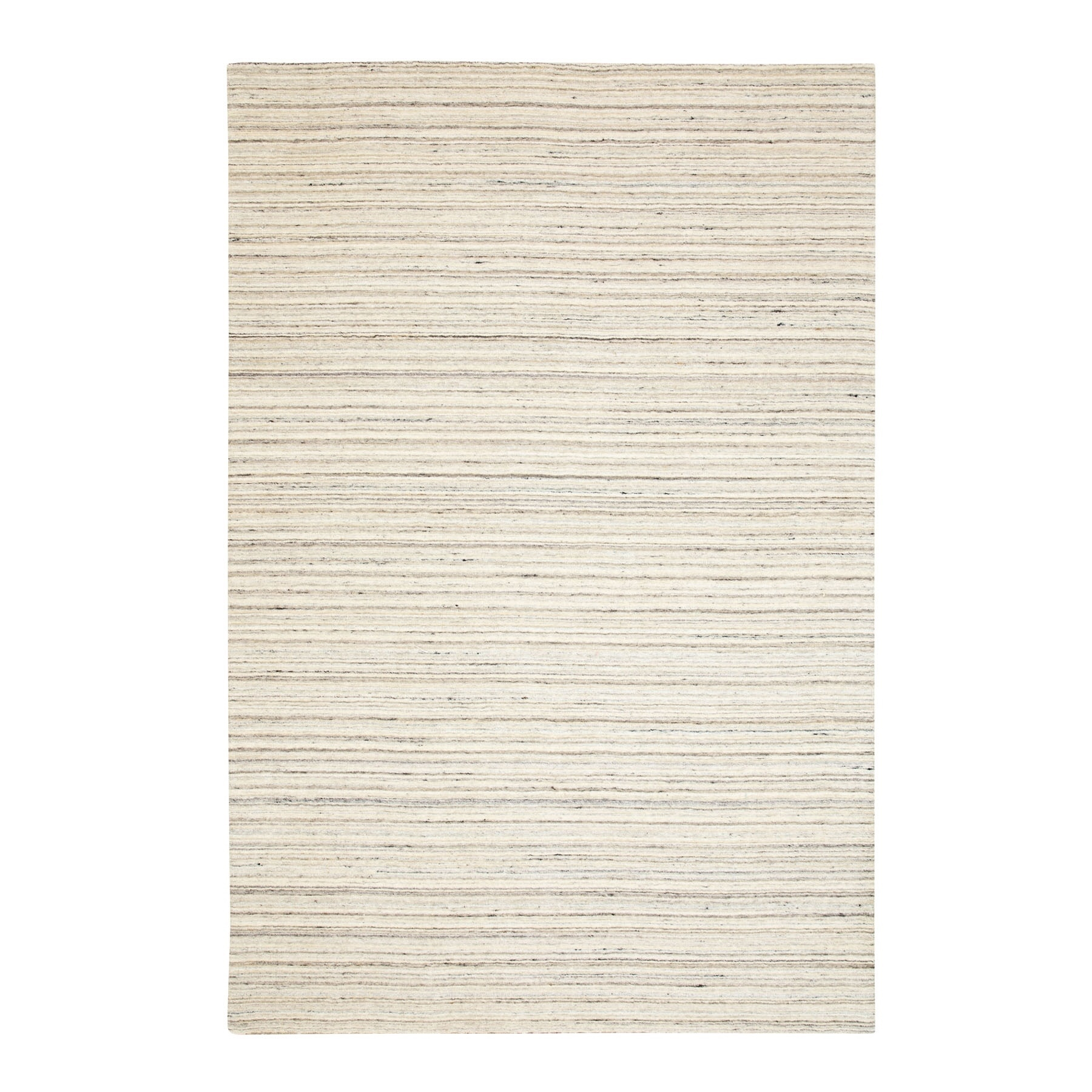 Modern Collection Hand Loomed Beige Rug No: 1116704
