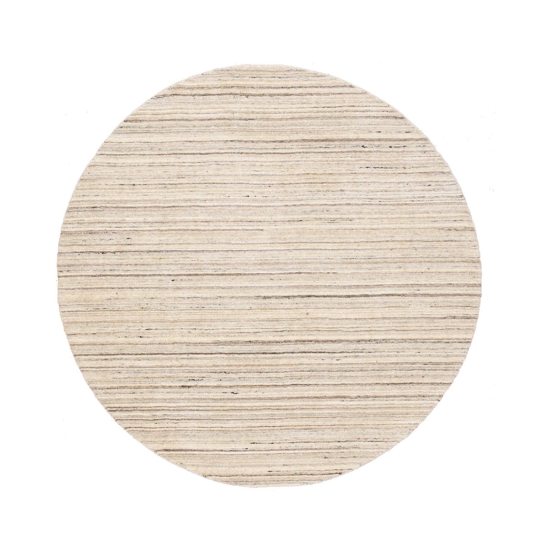 Modern Collection Hand Loomed Beige Rug No: 1116708