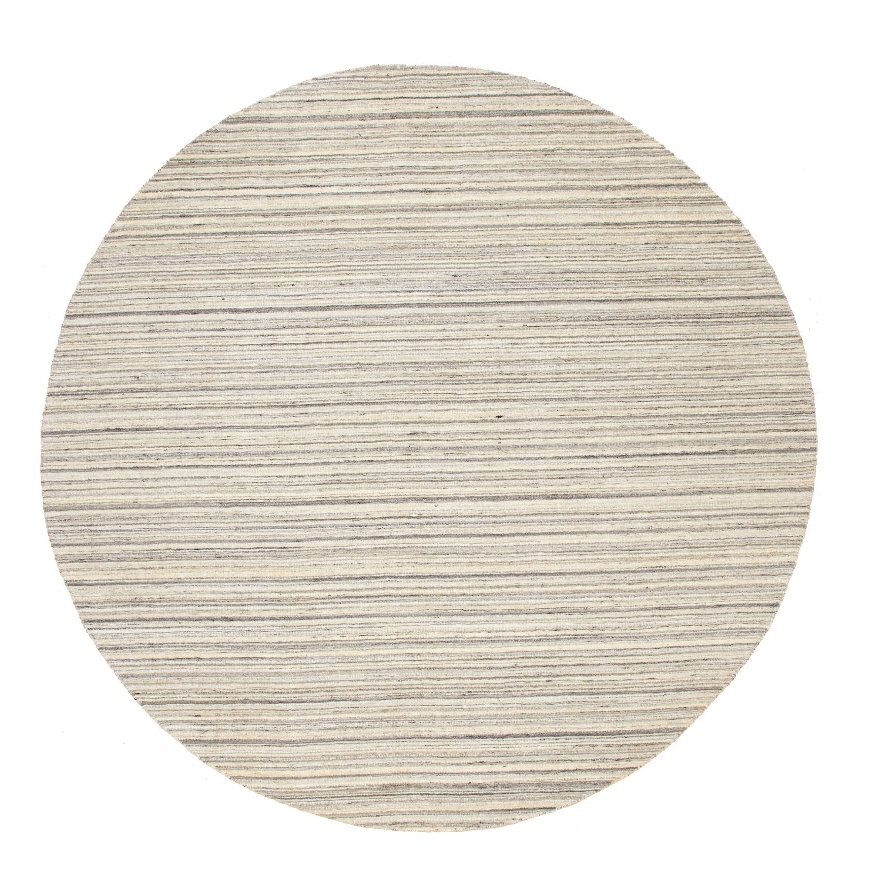Mid Century Modern Collection Hand Loomed Beige Rug No: 1116734