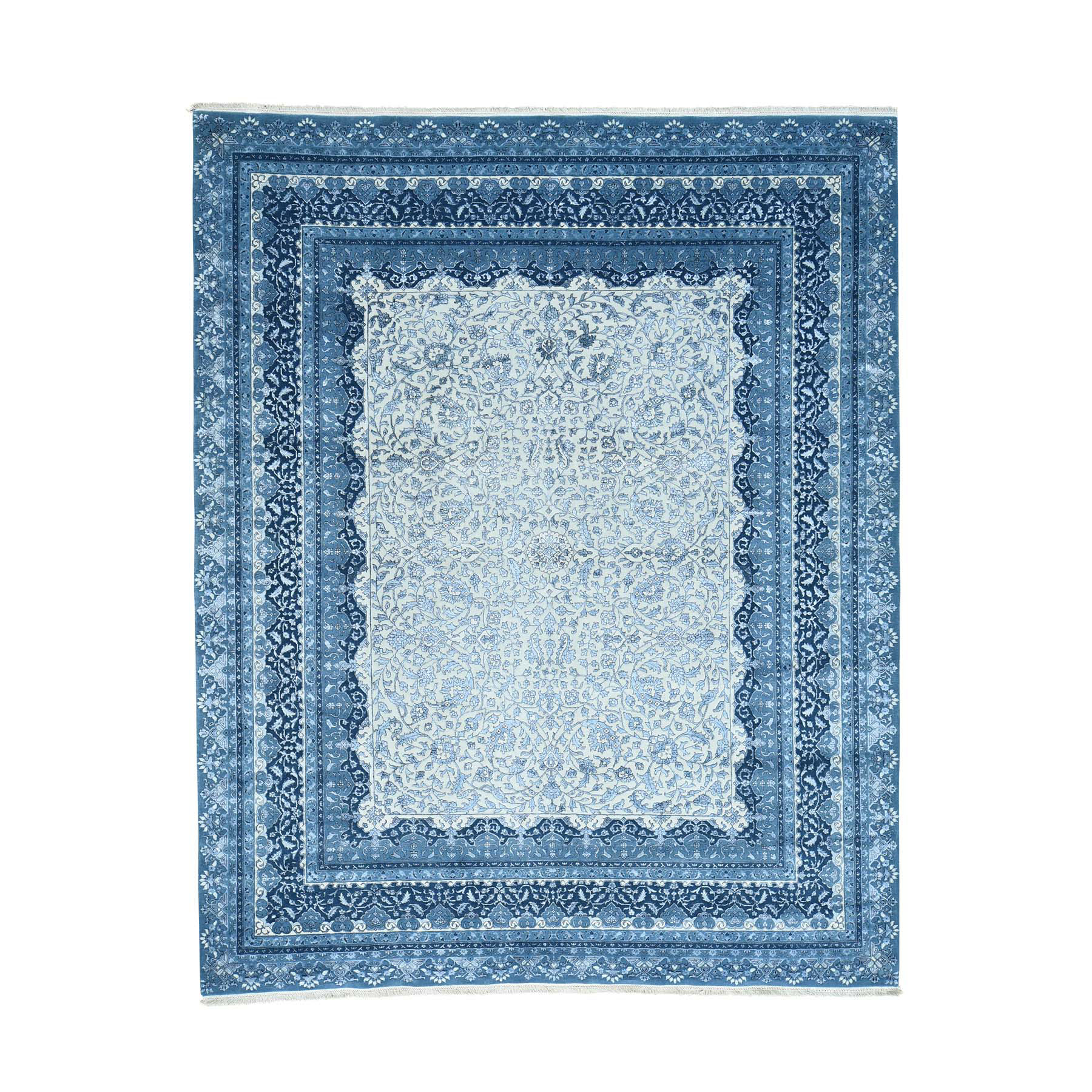 Pirniakan Collection Hand Knotted Ivory Rug No: 0165134