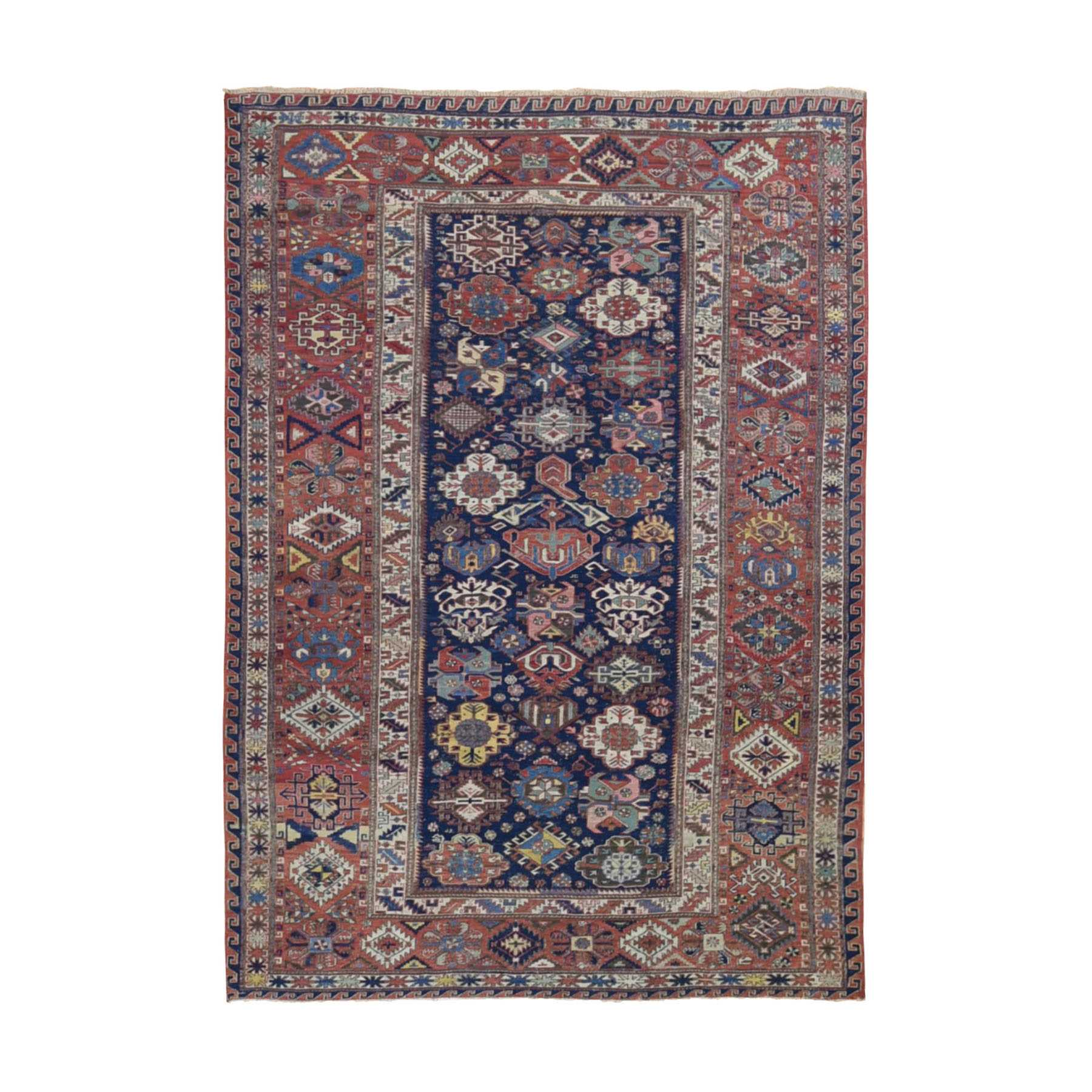 Antique Collection Hand Knotted Blue Rug No: 01118582