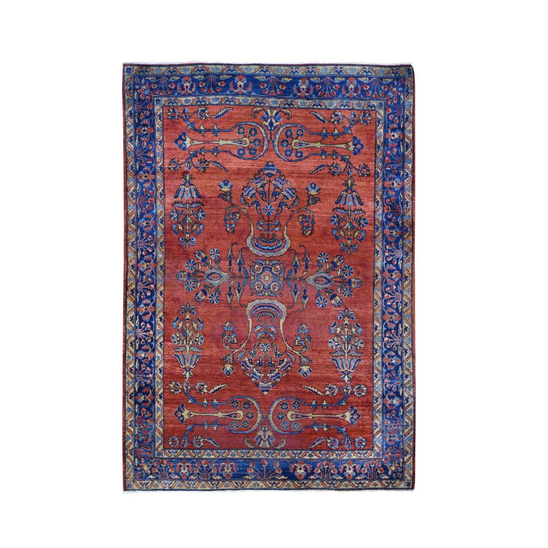 Antique Collection Hand Knotted Red Rug No: 1118590
