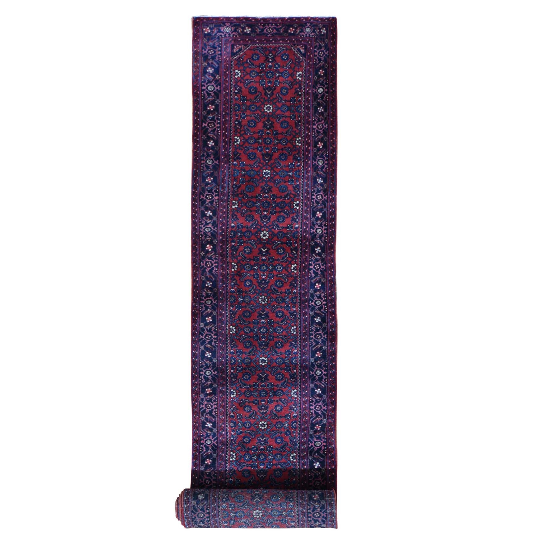 Antique Collection Hand Knotted Red Rug No: 01118594