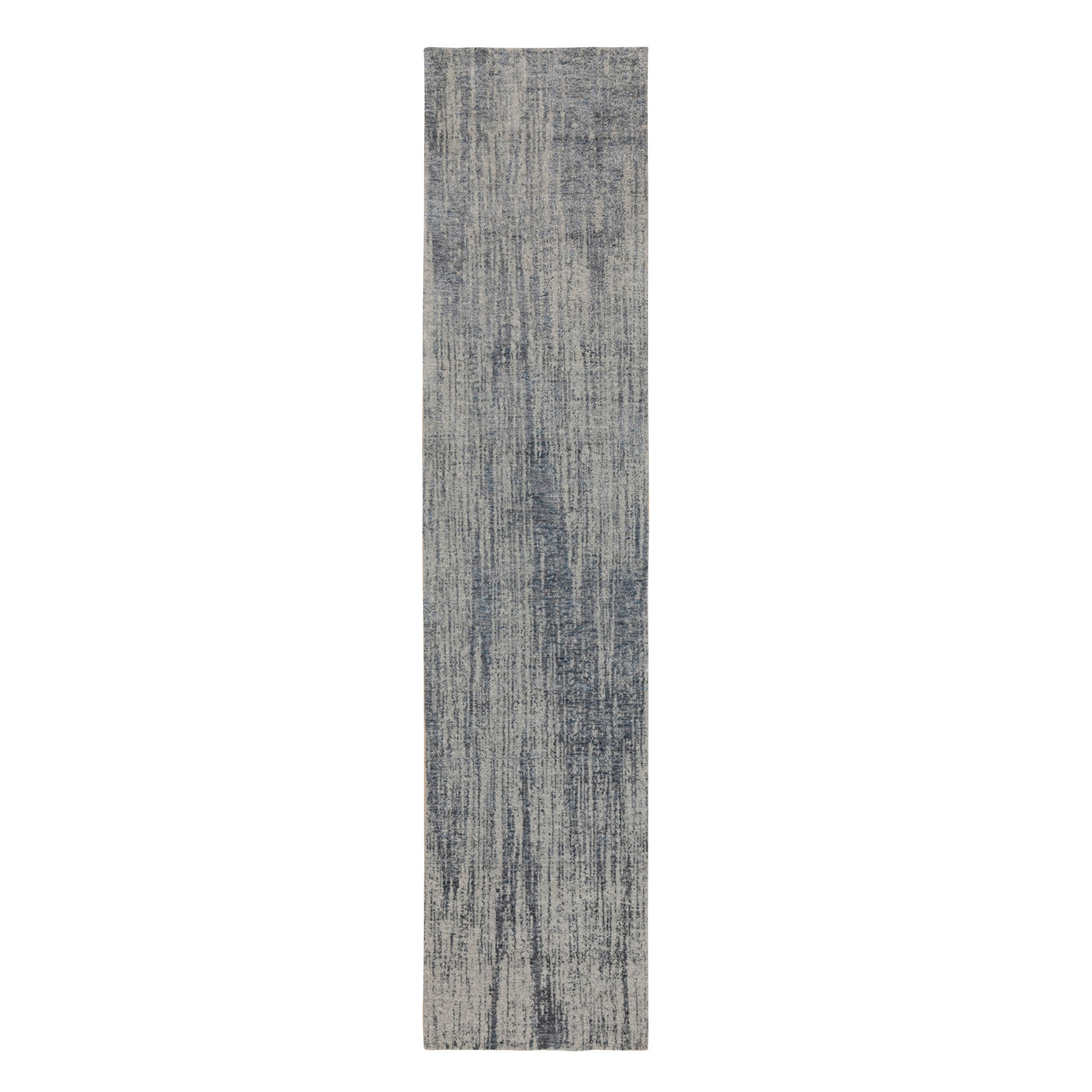 Mid Century Modern Collection Hand Loomed Grey Rug No: 1116840