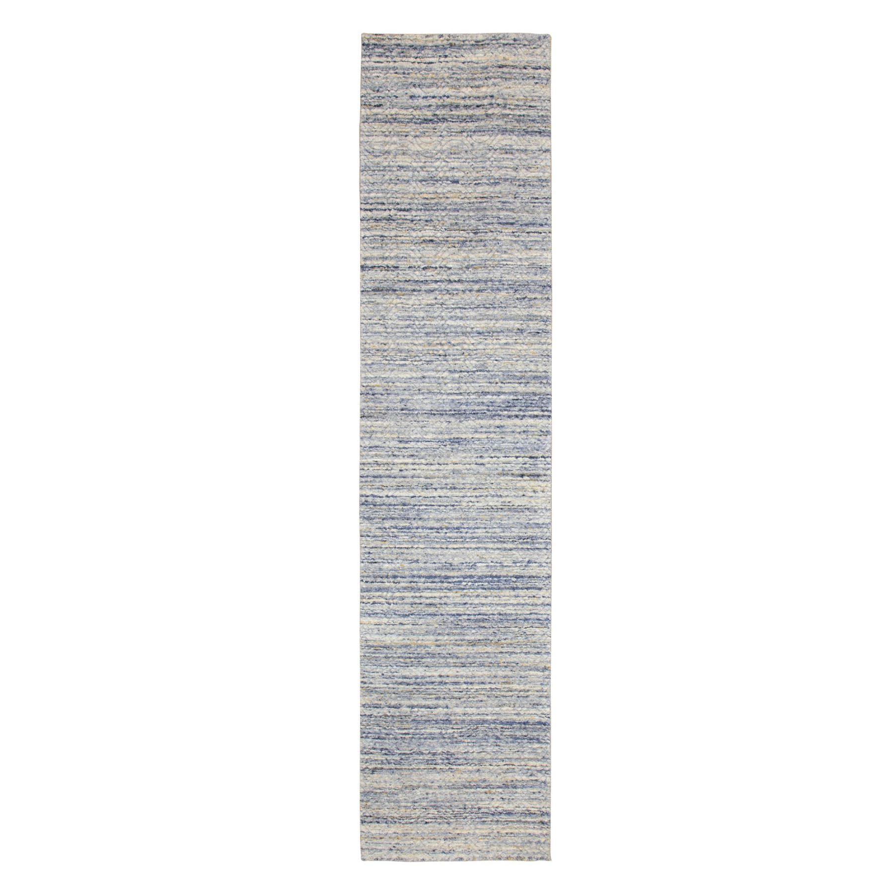 Mid Century Modern Collection Hand Loomed Grey Rug No: 1116806