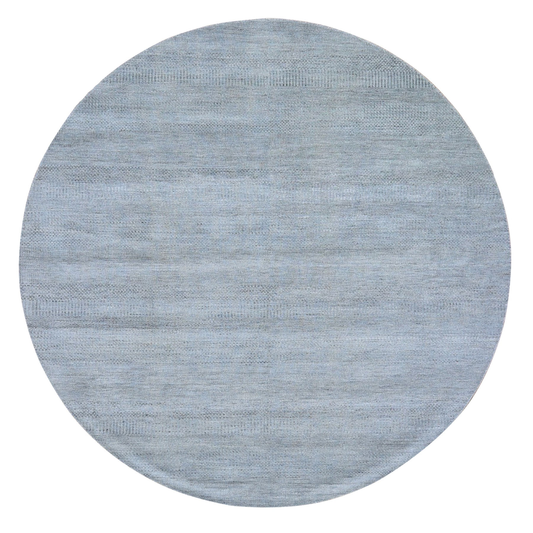 Mid Century Modern Collection Hand Knotted Grey Rug No: 01118628