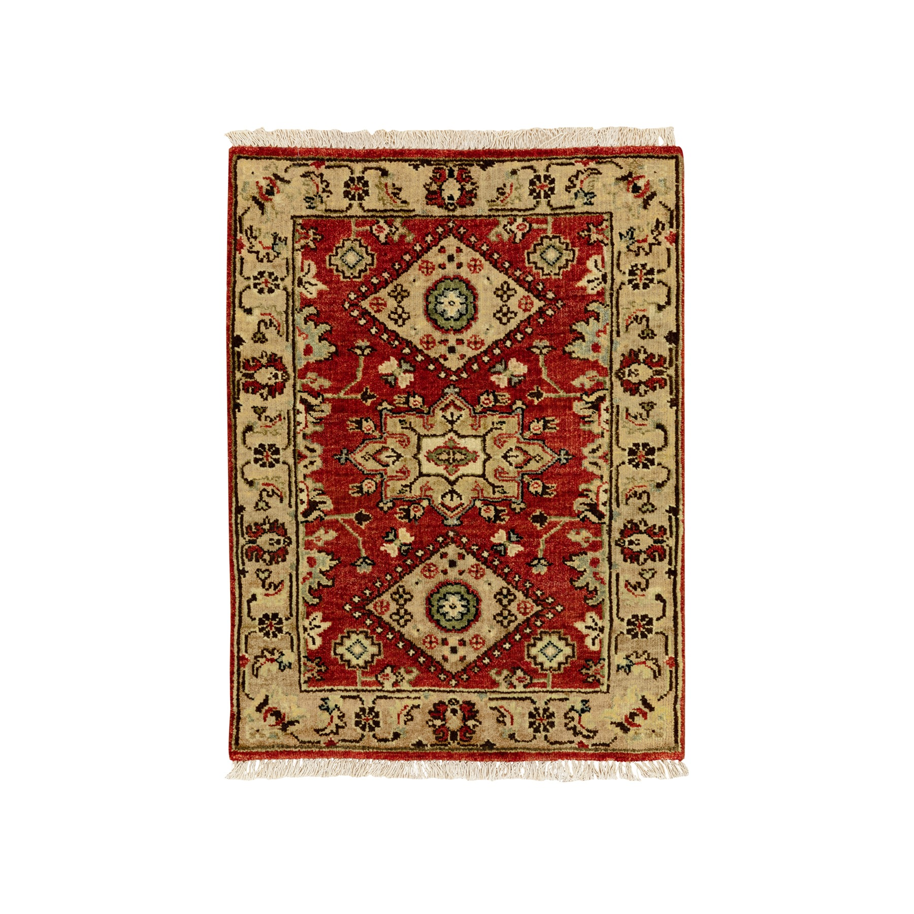 Serapi Heriz and Bakhshayesh Collection Hand Knotted Red Rug No: 1117052