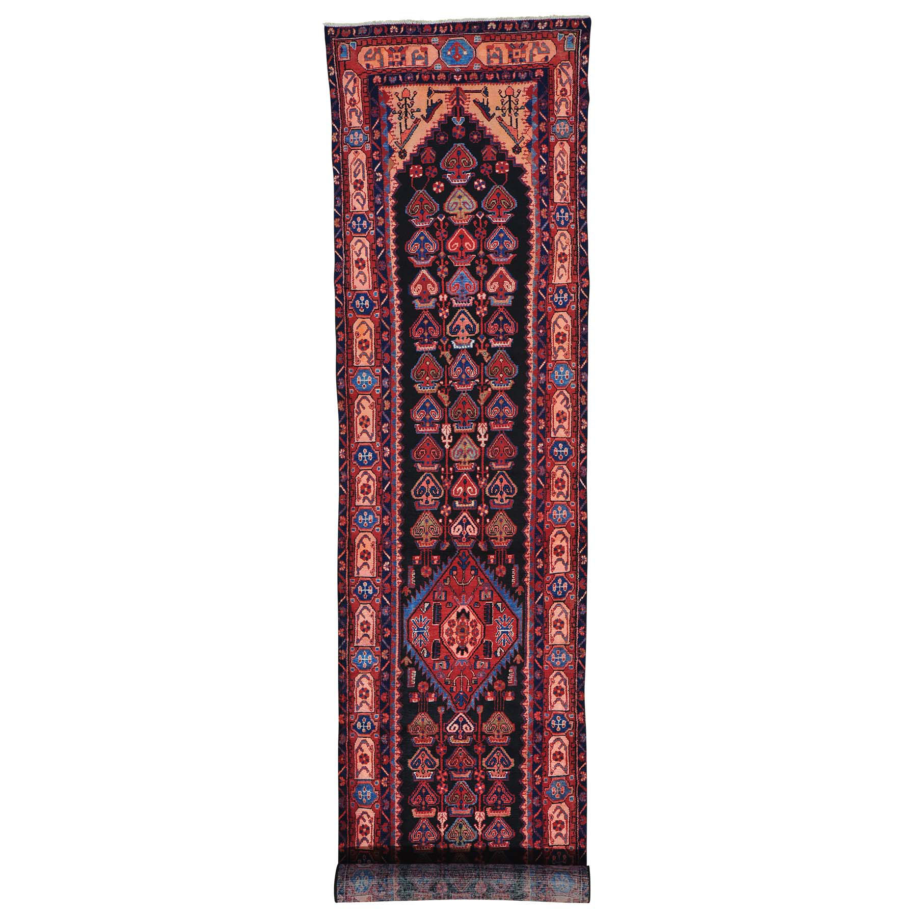 Classic Persian Collection Hand Knotted Black Rug No: 149734