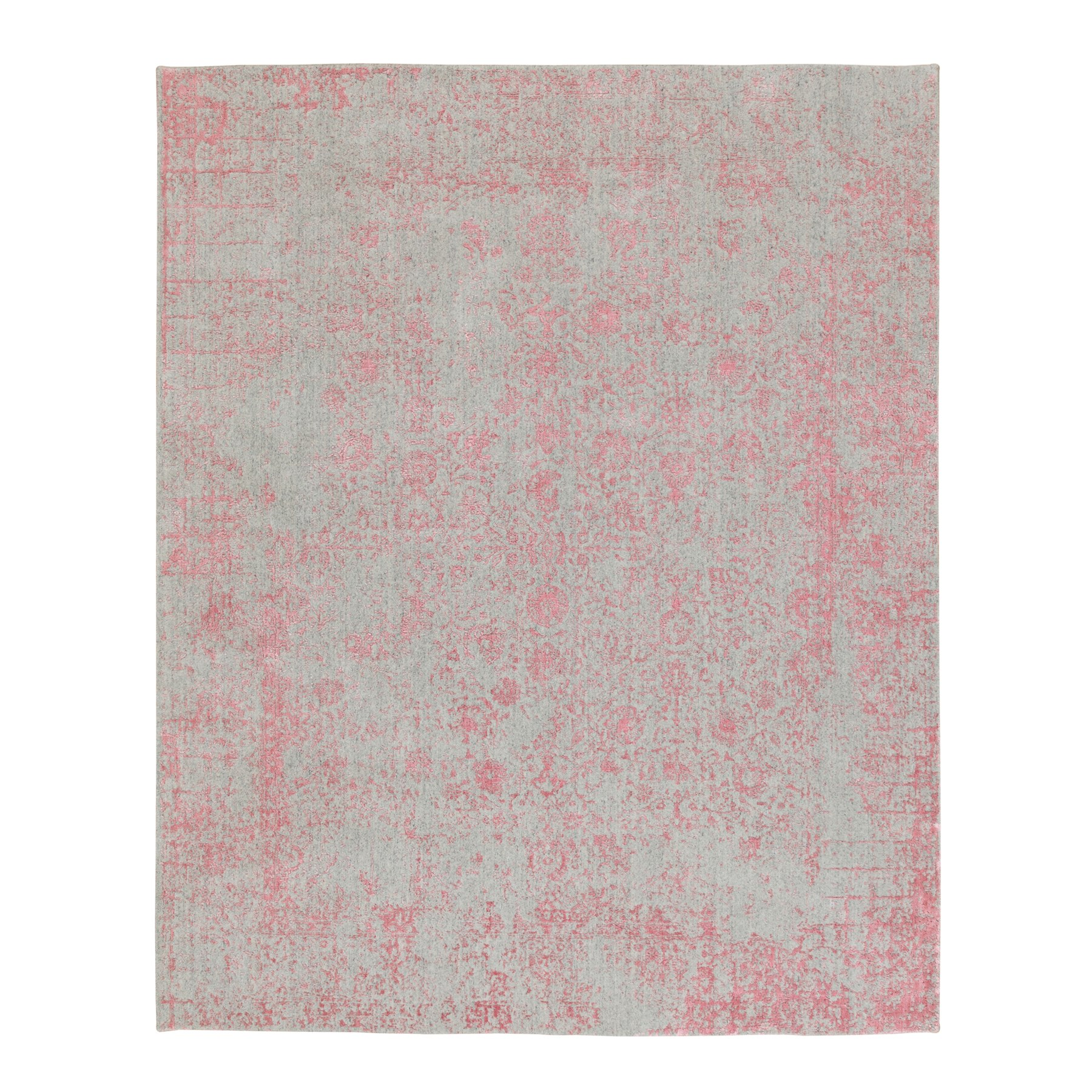 Modern Collection Hand Loomed Pink Rug No: 1117160