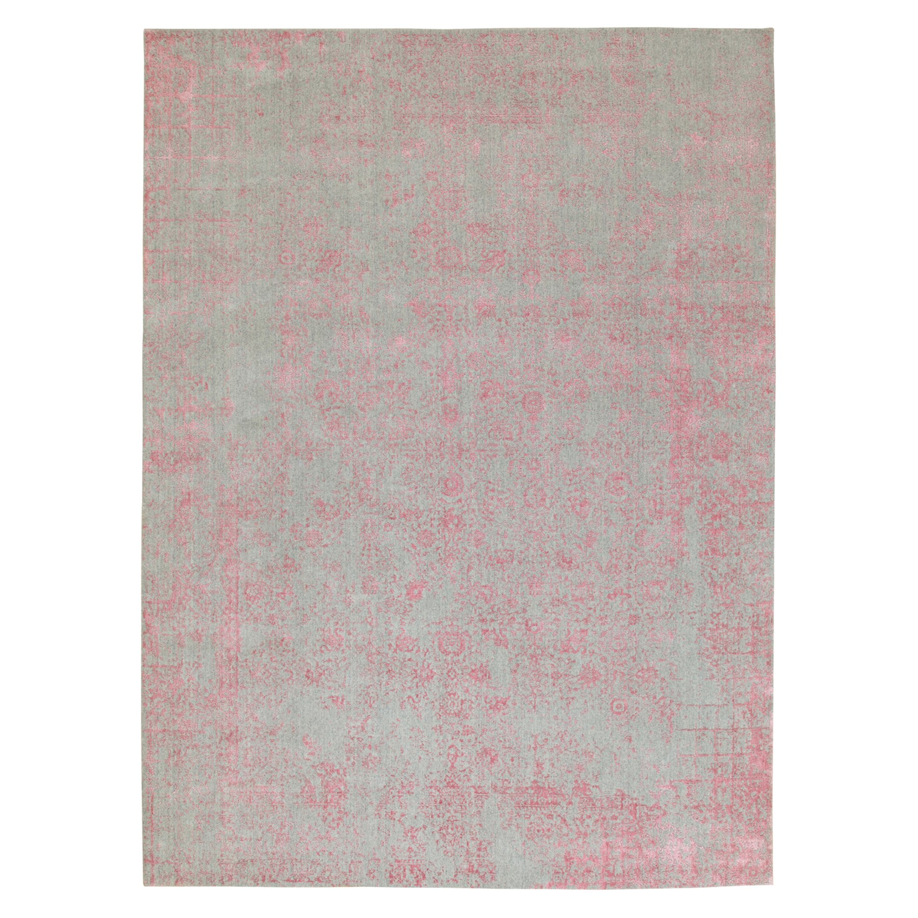 Modern Collection Hand Loomed Pink Rug No: 1117162
