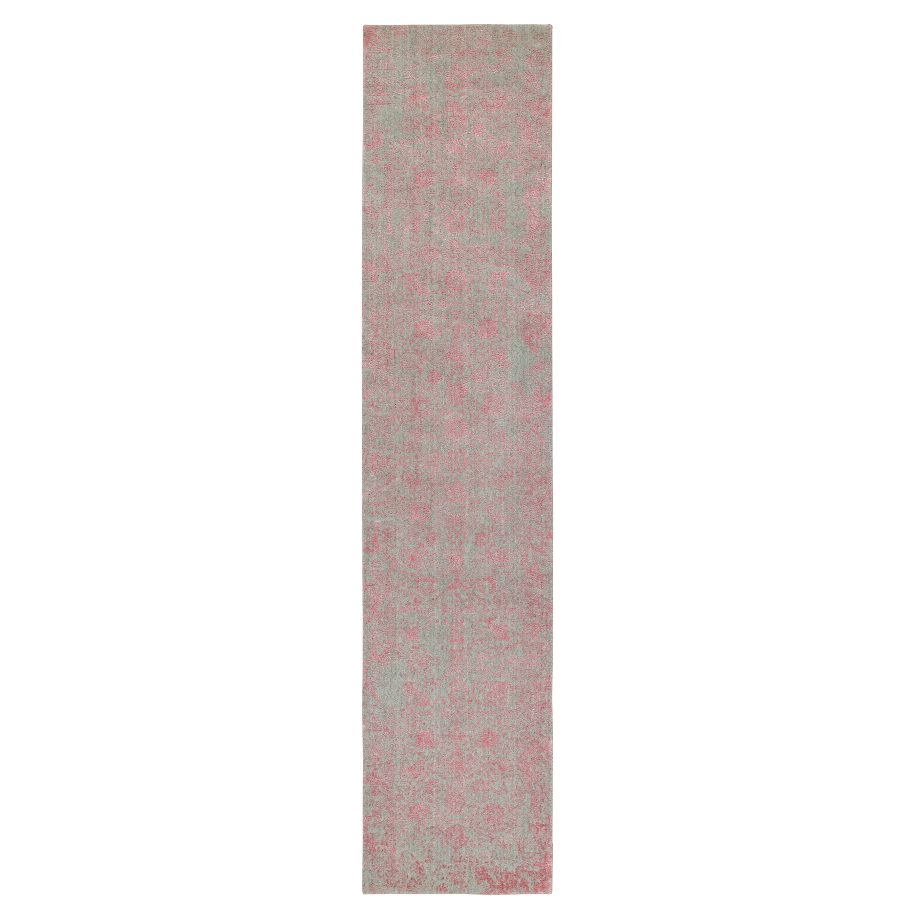 Modern Collection Hand Loomed Pink Rug No: 1117164