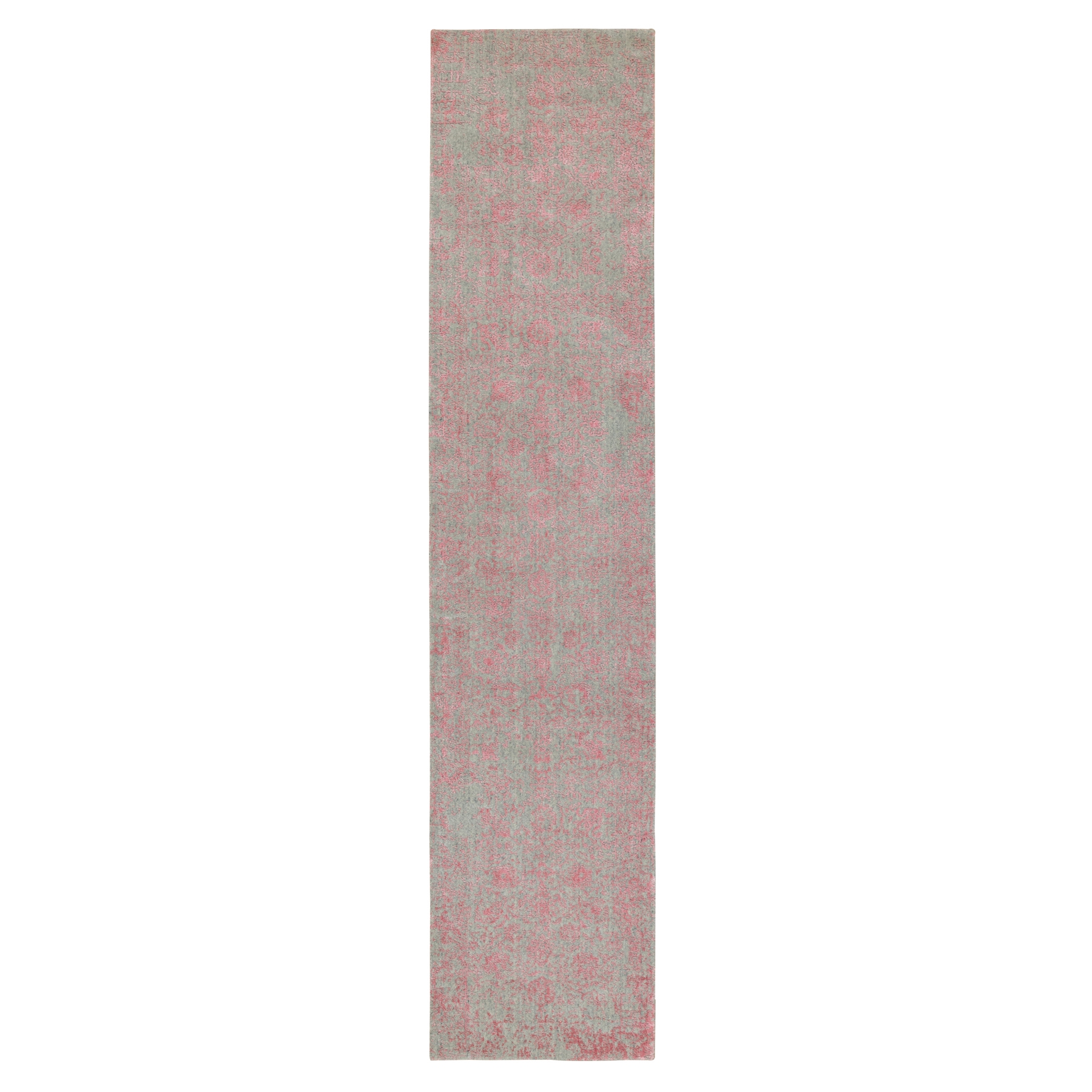 Modern Collection Hand Loomed Pink Rug No: 1117166