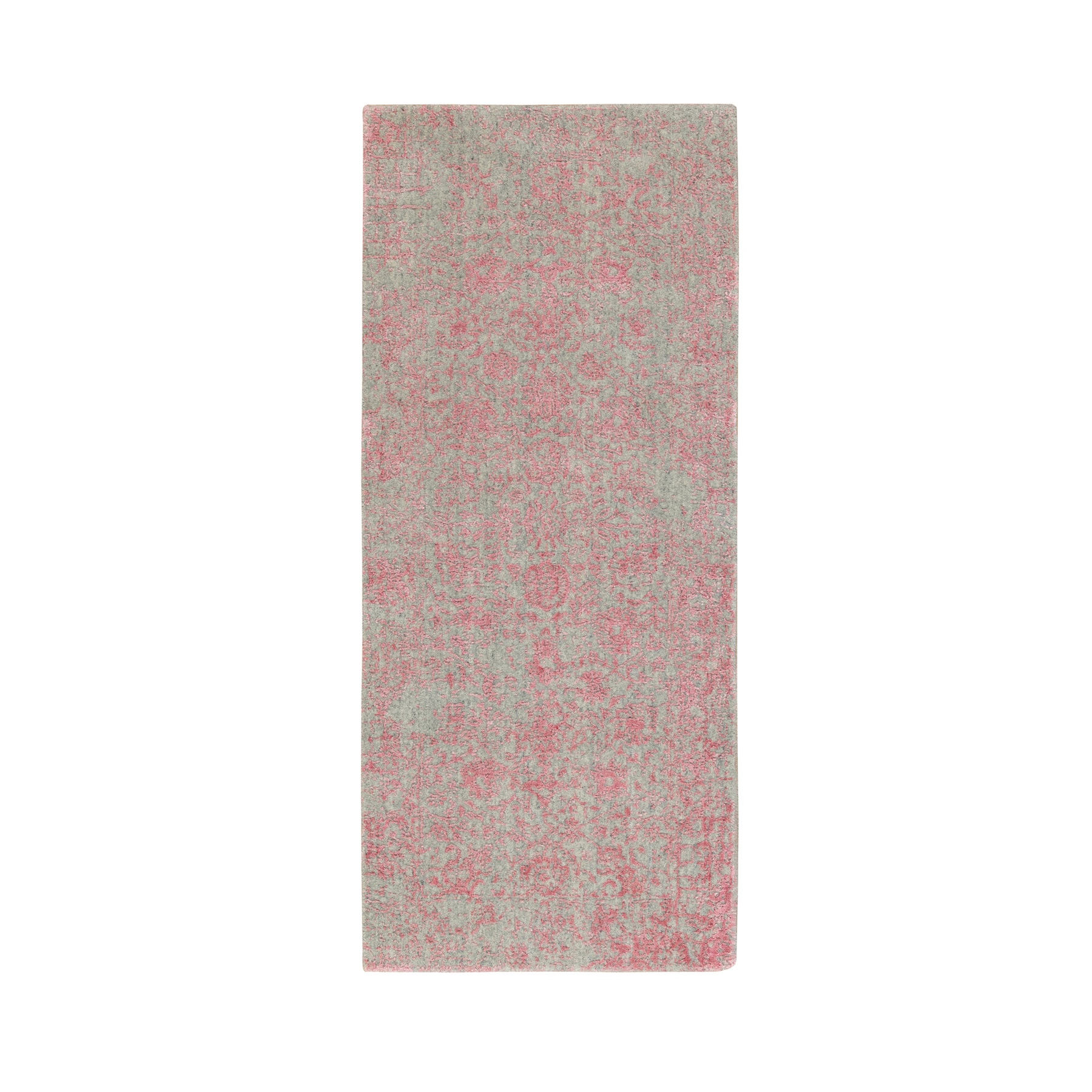 Modern Collection Hand Loomed Pink Rug No: 1117172