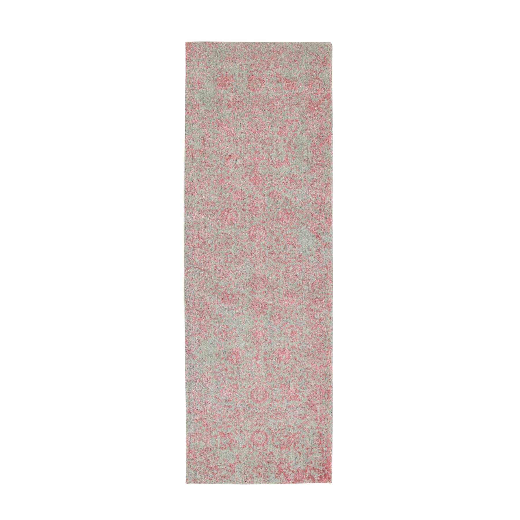 Modern Collection Hand Loomed Pink Rug No: 1117176