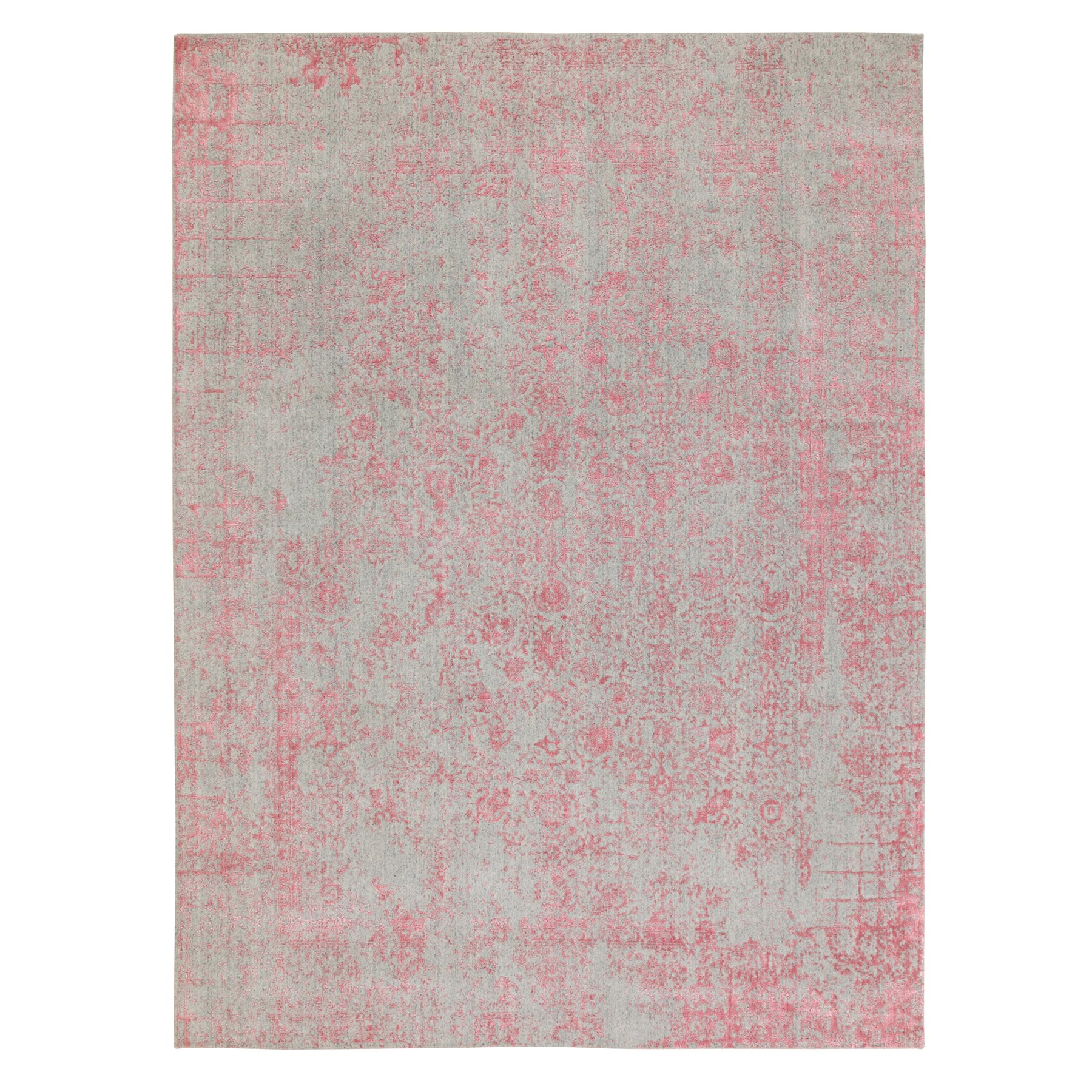 Modern Collection Hand Loomed Pink Rug No: 1117178