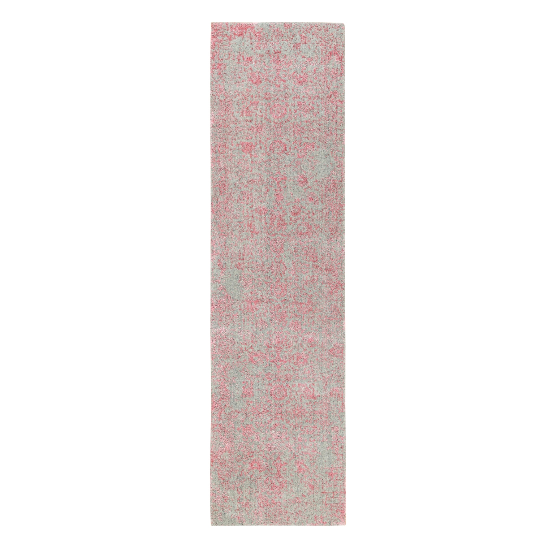 Modern Collection Hand Loomed Pink Rug No: 1117196