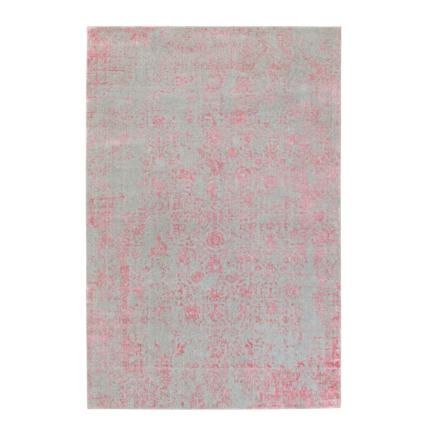 Modern Collection Hand Loomed Pink Rug No: 1117198