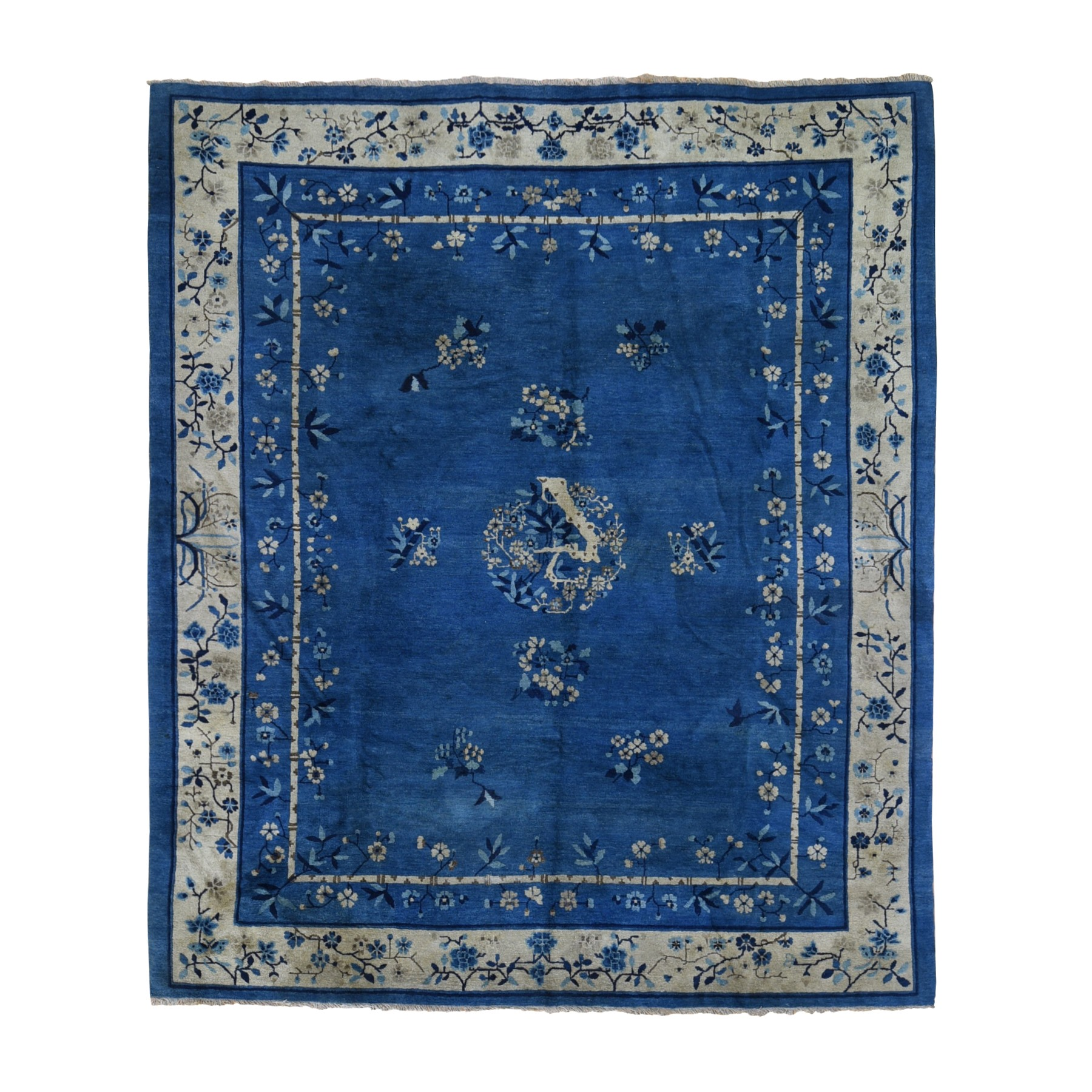 Antique Collection Hand Knotted Blue Rug No: 1118910