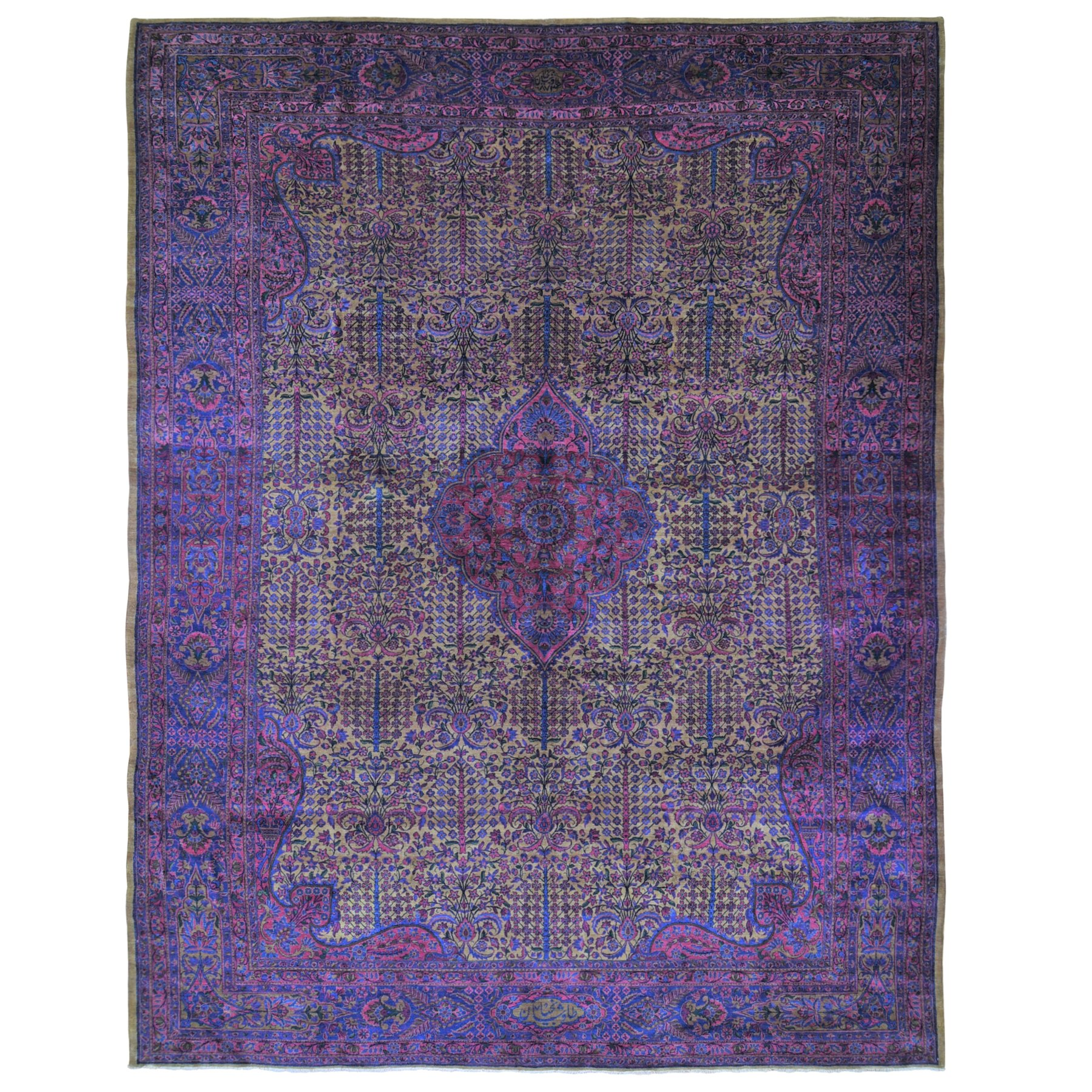 Antique Collection Hand Knotted Red Rug No: 1118944