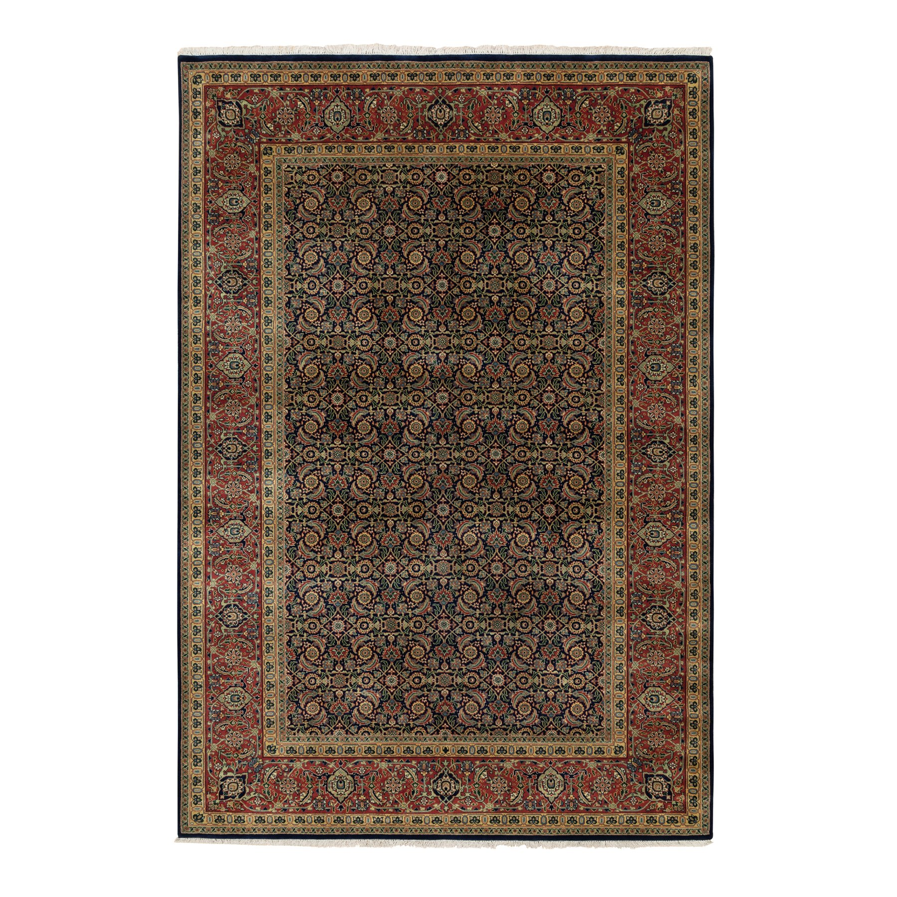 Pirniakan Collection Hand Knotted Blue Rug No: 1117276
