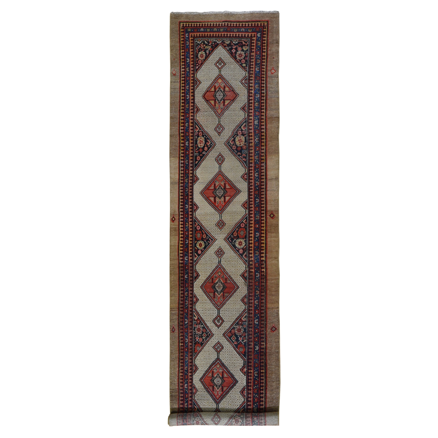 Antique Collection Hand Knotted Brown Rug No: 1119022