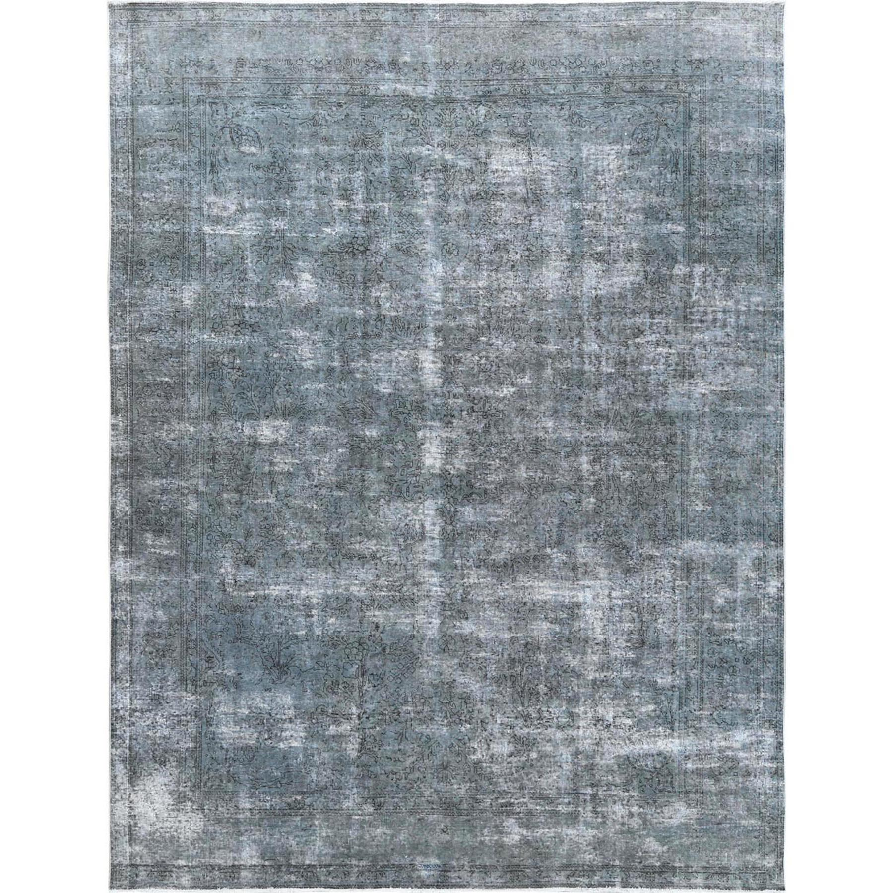 Transitional Collection Hand Knotted Grey Rug No: 1120648