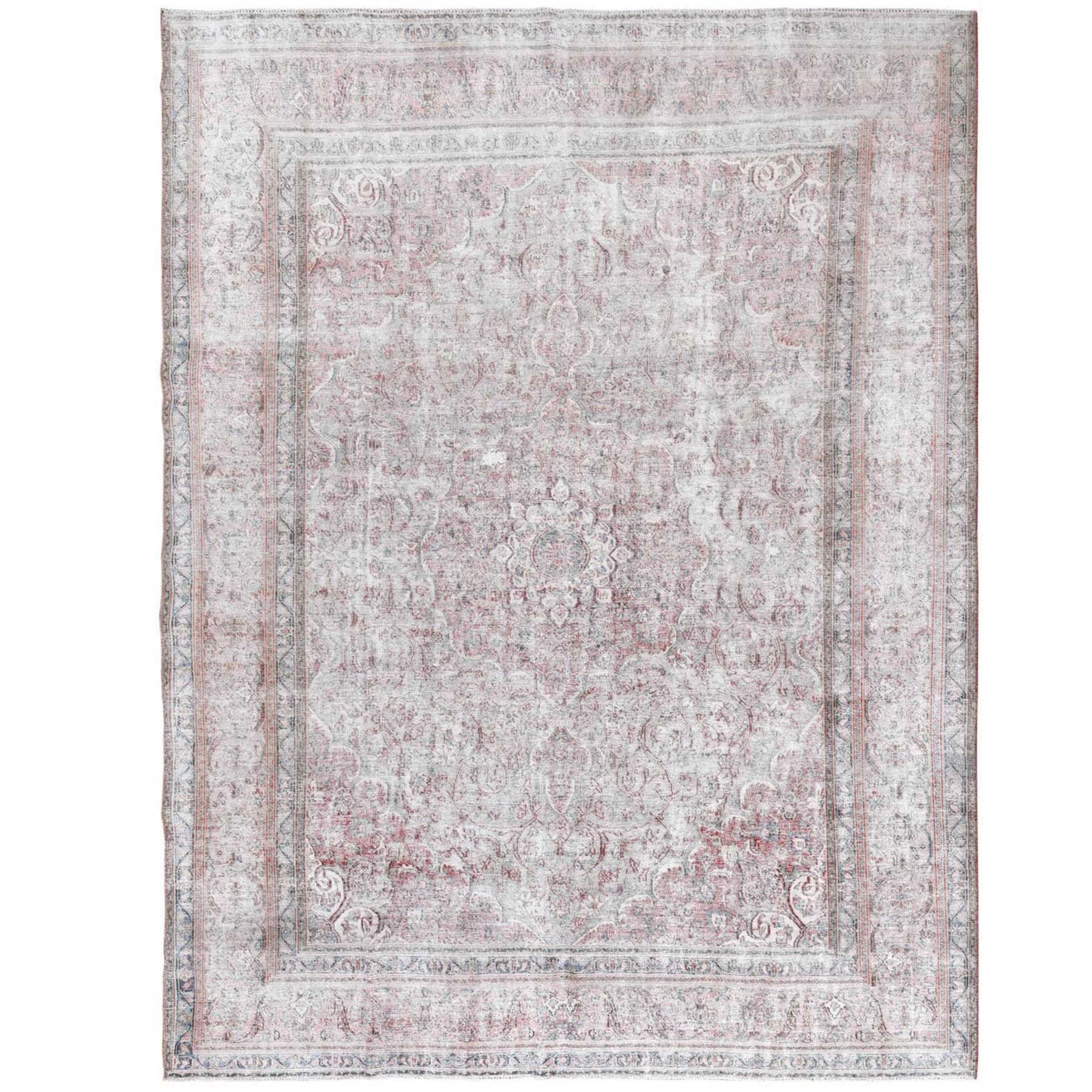 Transitional Collection Hand Knotted Pink Rug No: 1115410