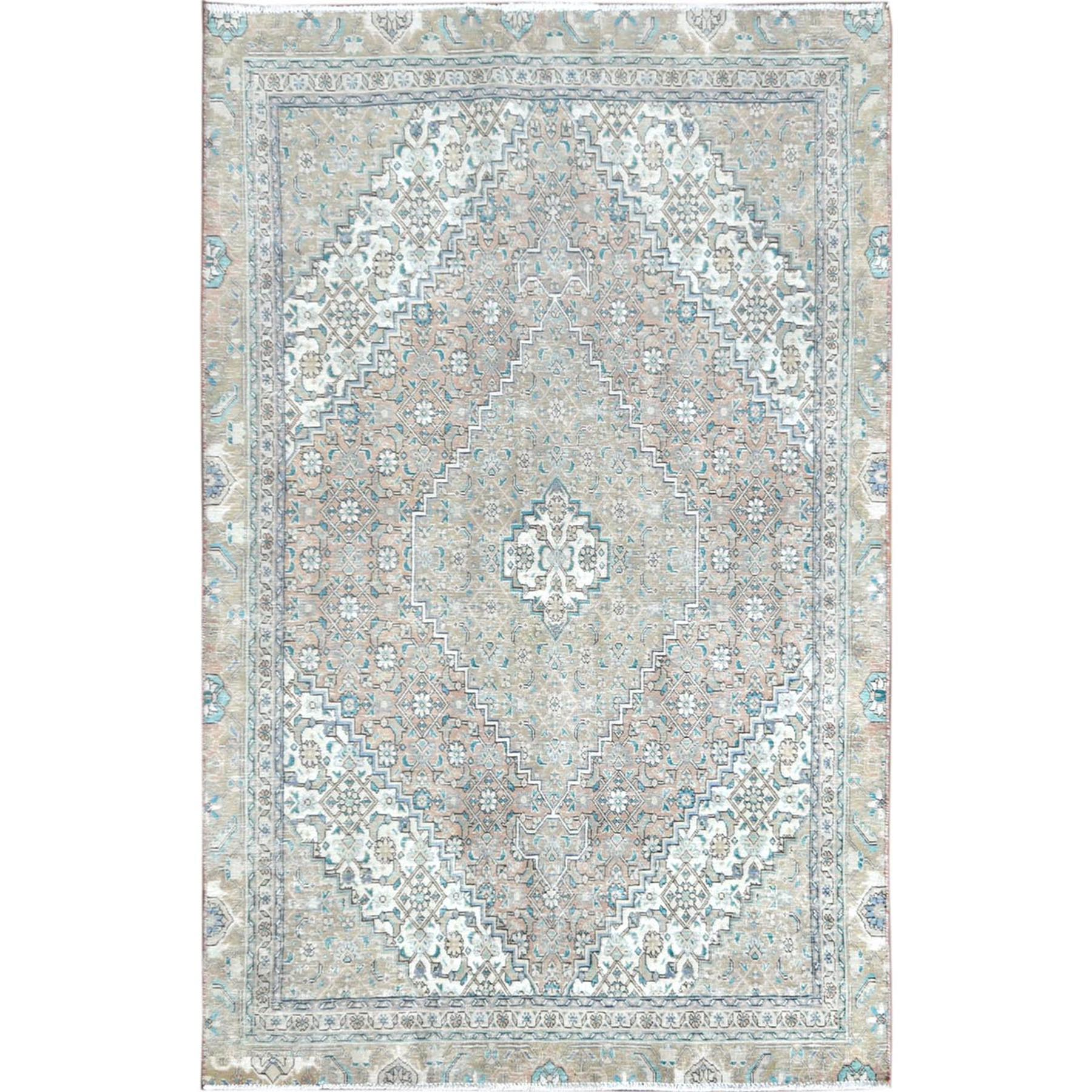 Transitional Collection Hand Knotted Brown Rug No: 1115478