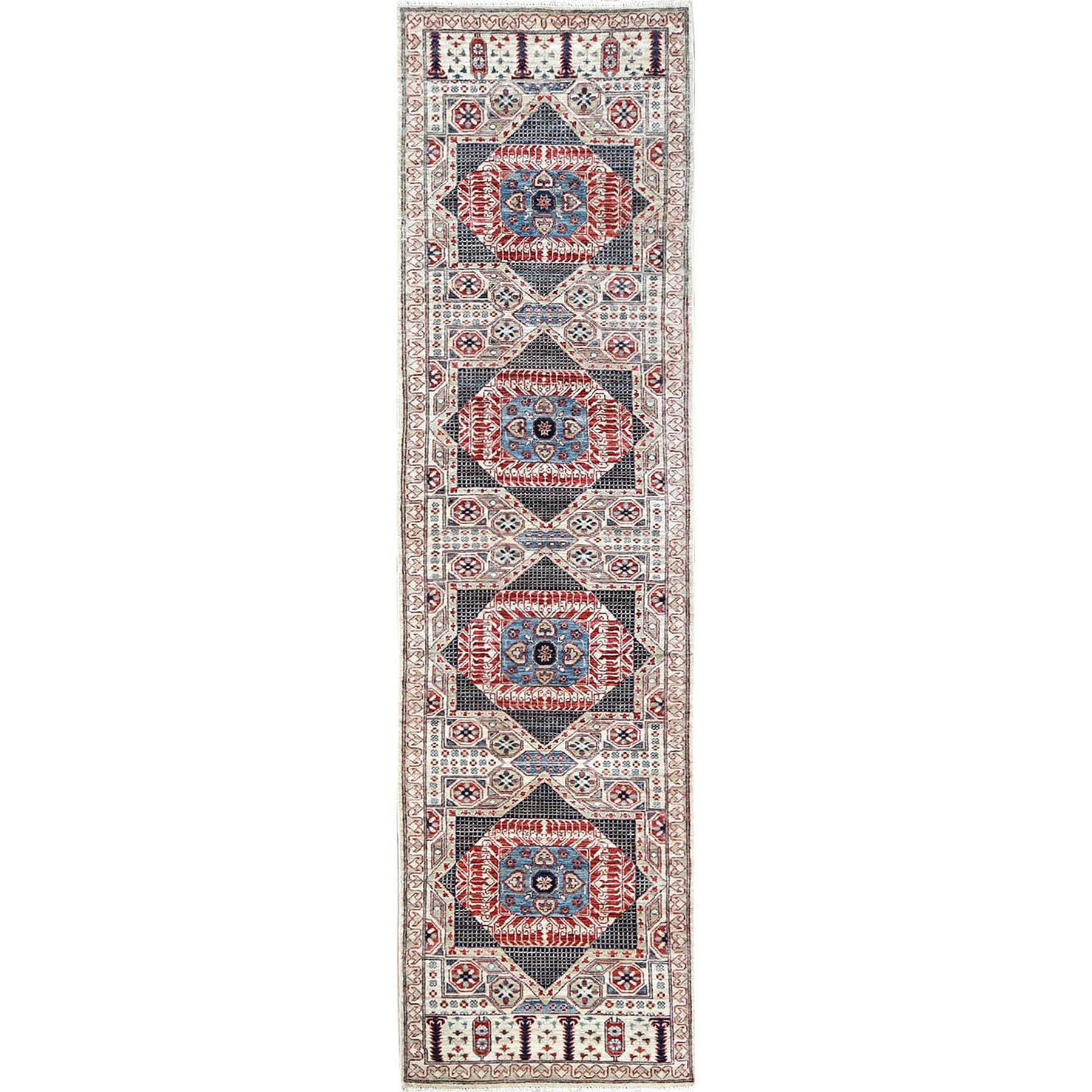 Intricate Collection Hand Knotted Ivory Rug No: 1120572