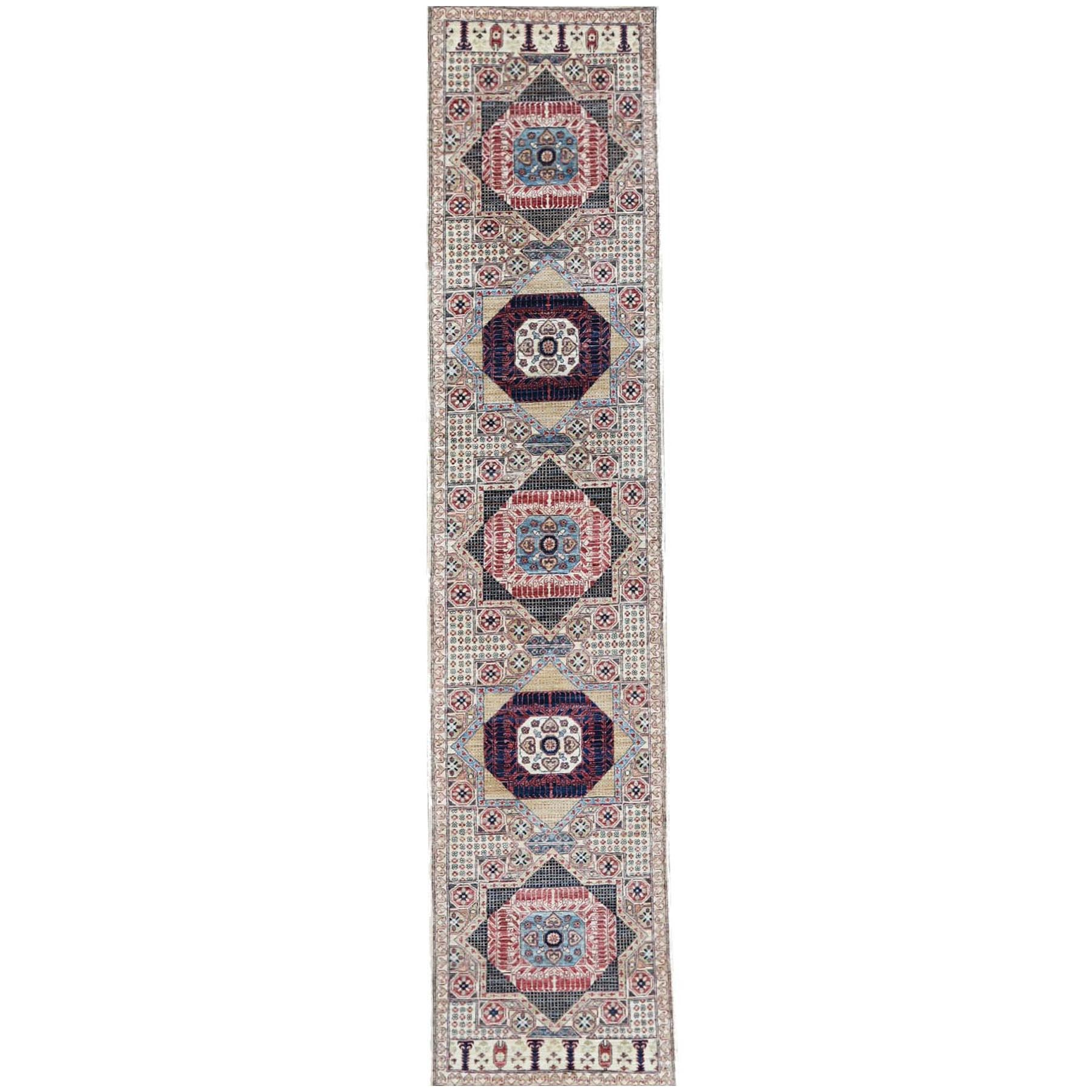 Intricate Collection Hand Knotted Ivory Rug No: 1120574