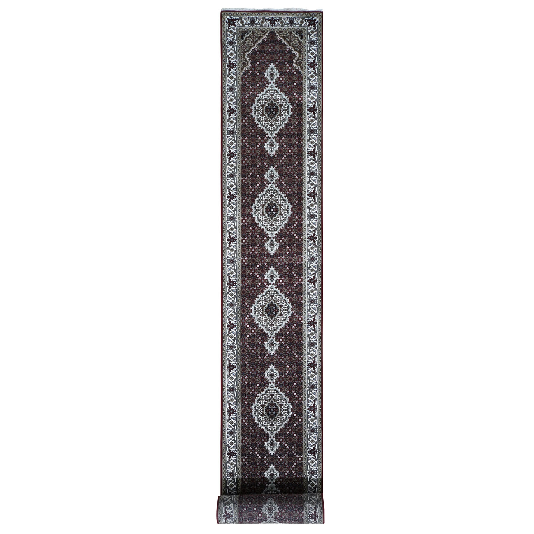 Pirniakan Collection Hand Knotted Red Rug No: 196632