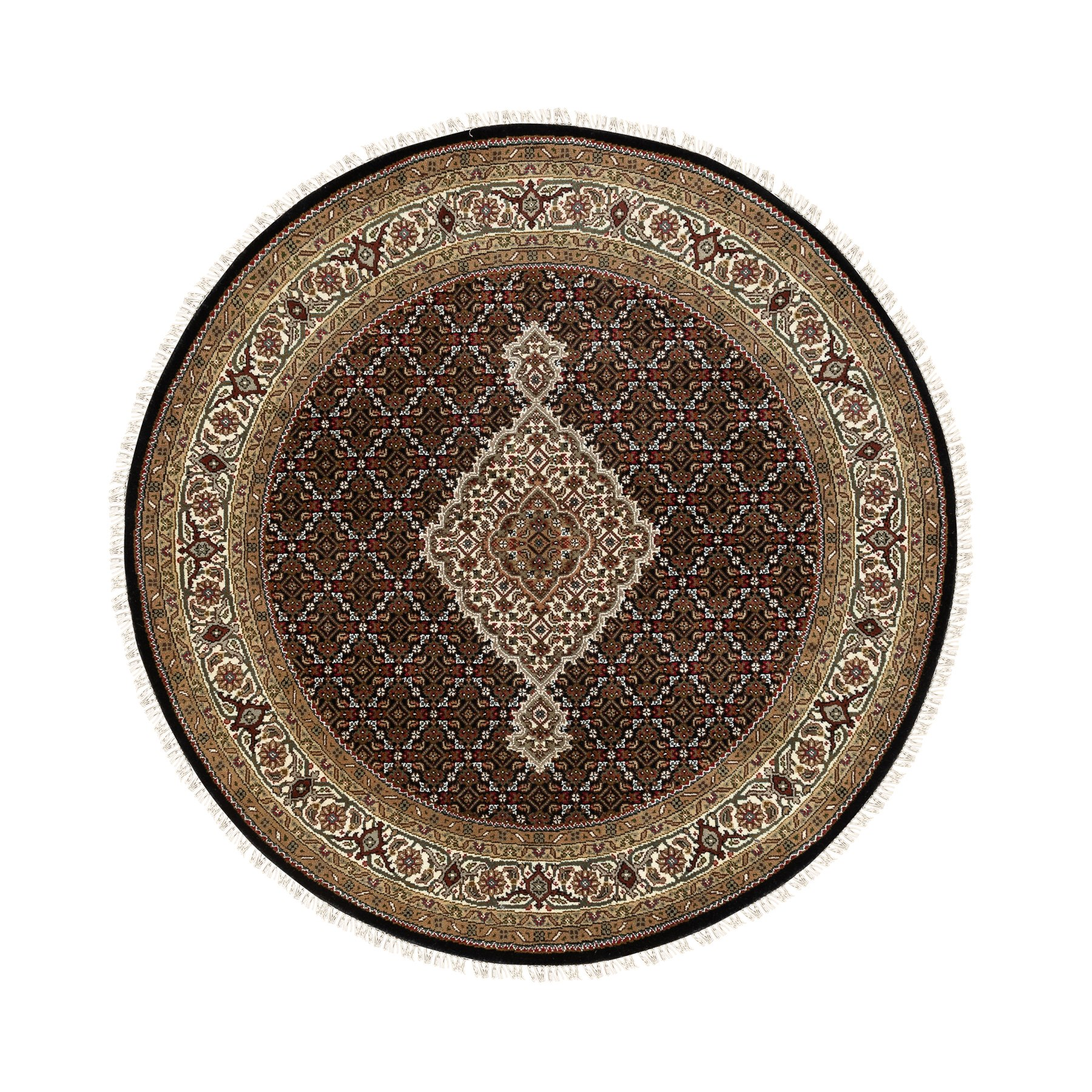 Pirniakan Collection Hand Knotted Black Rug No: 1117376