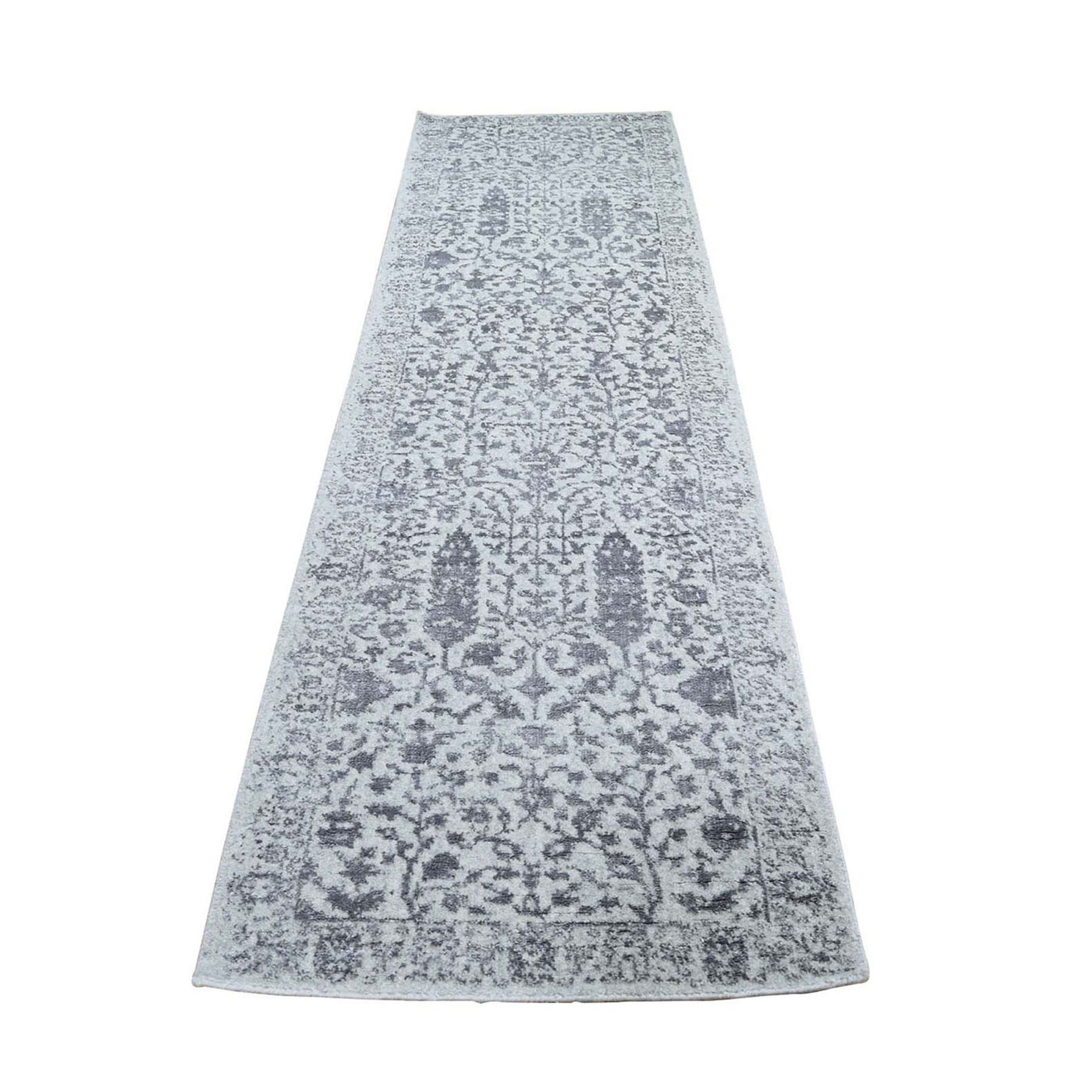 Modern Collection Hand Loomed Grey Rug No: 1119138