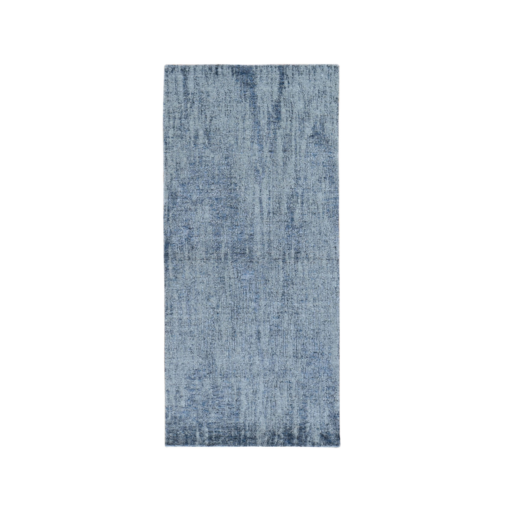 Mid Century Modern Collection Hand Loomed Grey Rug No: 1119144