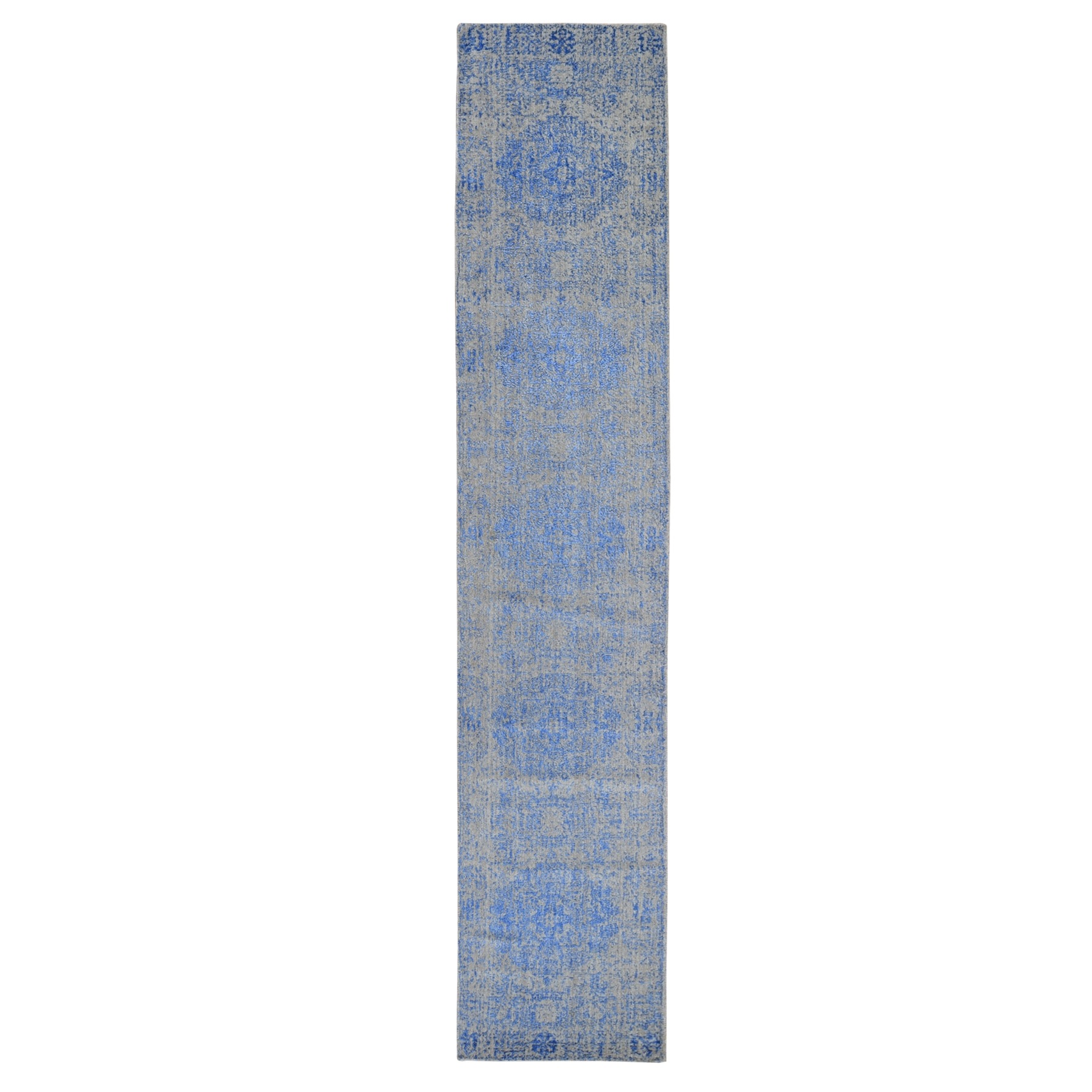 Intricate Collection Hand Loomed Blue Rug No: 1119172