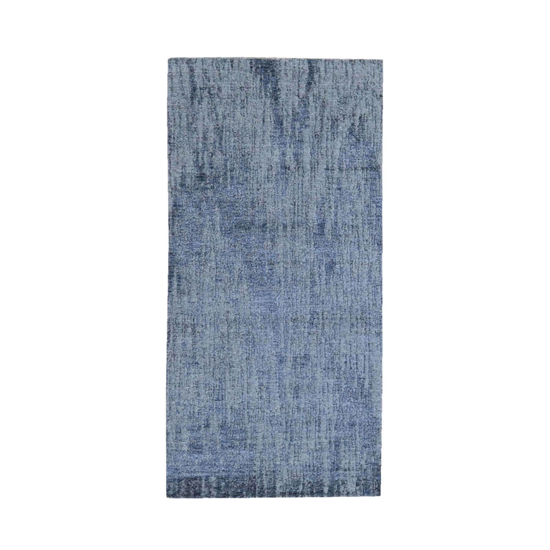 Mid Century Modern Collection Hand Loomed Grey Rug No: 1119226