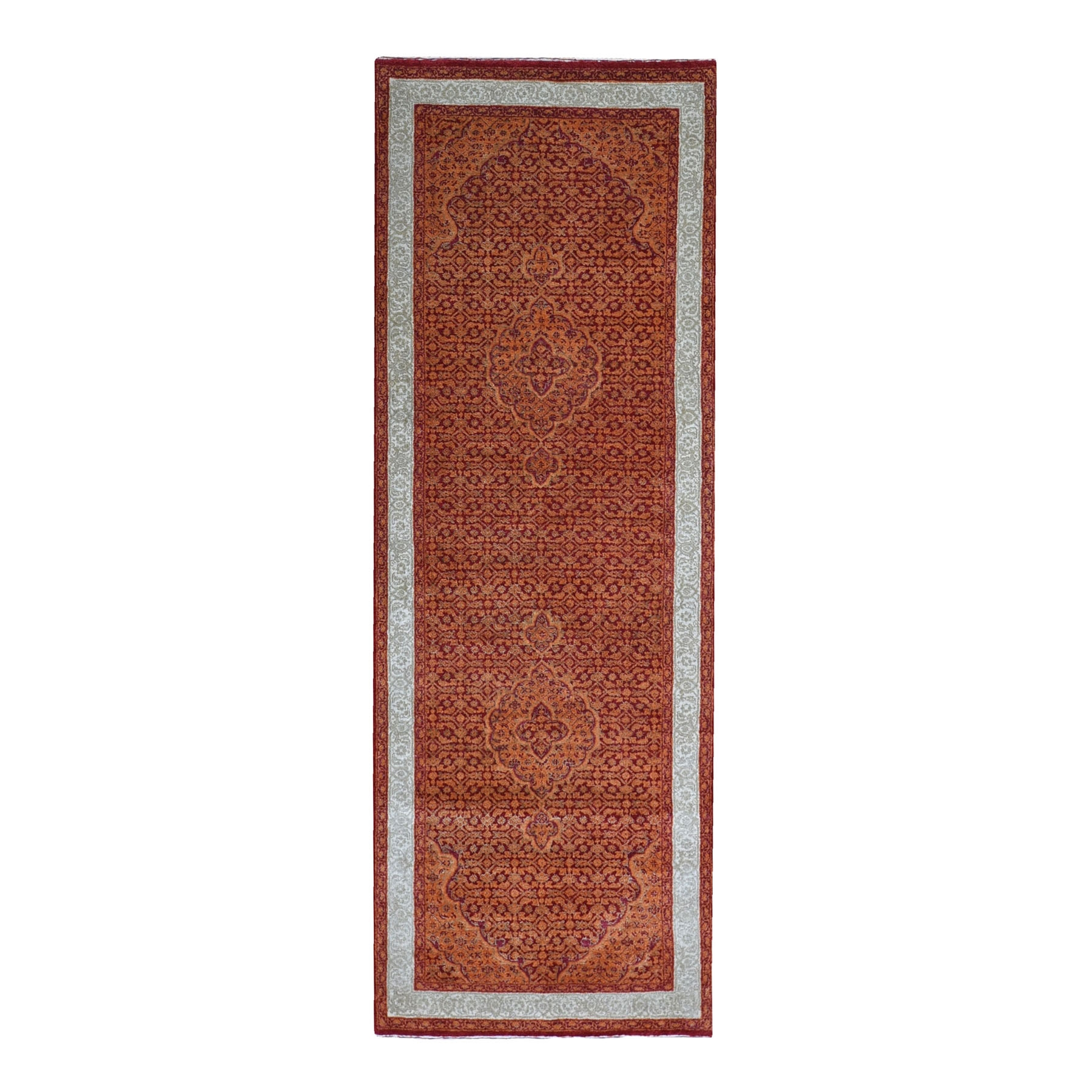 Pirniakan Collection Hand Knotted Orange Rug No: 1119378
