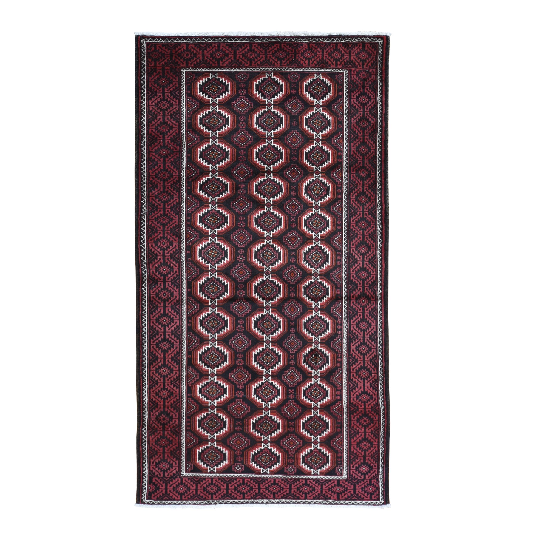 Classic Persian Collection Hand Knotted Black Rug No: 1119518