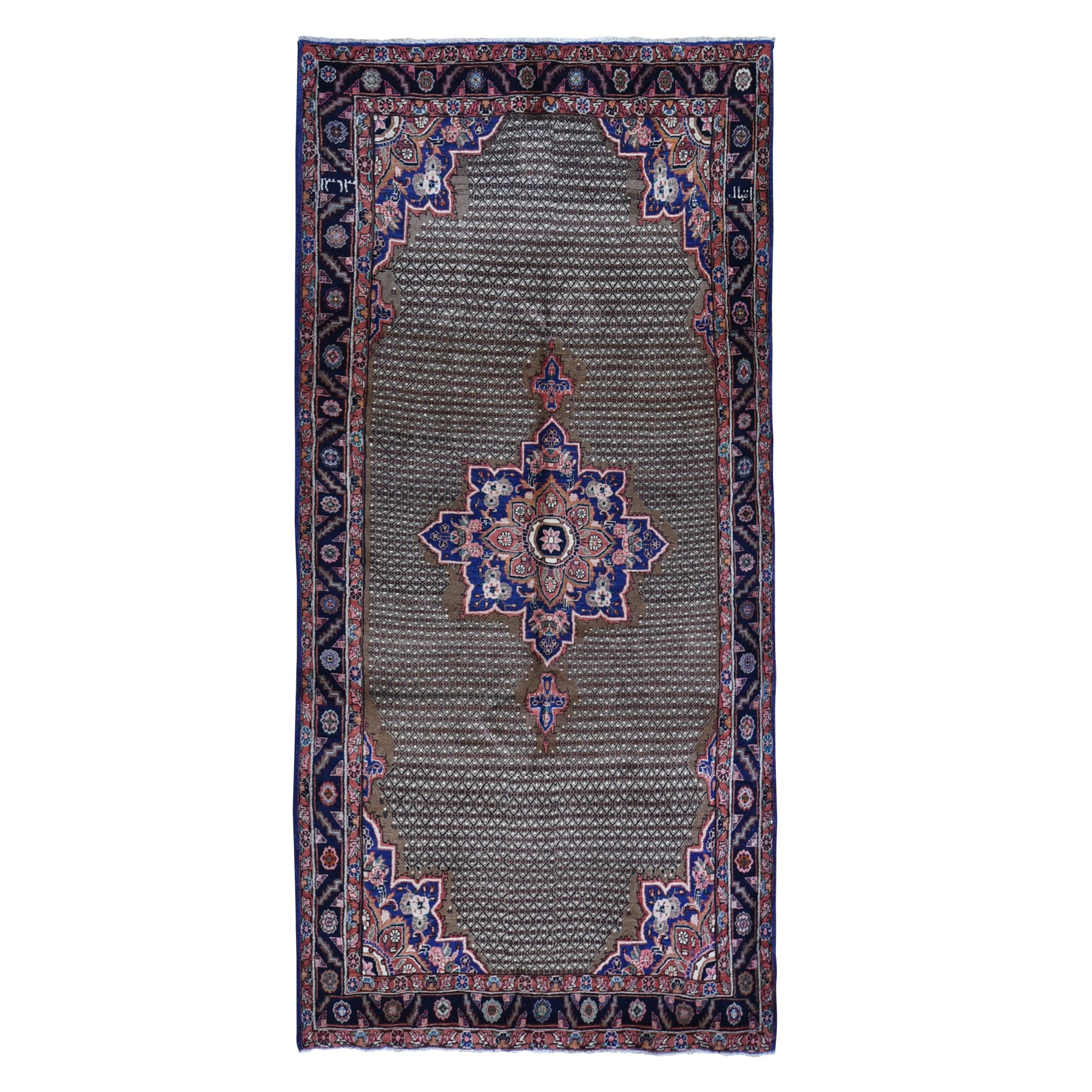 Classic Persian Collection Hand Knotted Brown Rug No: 1119554