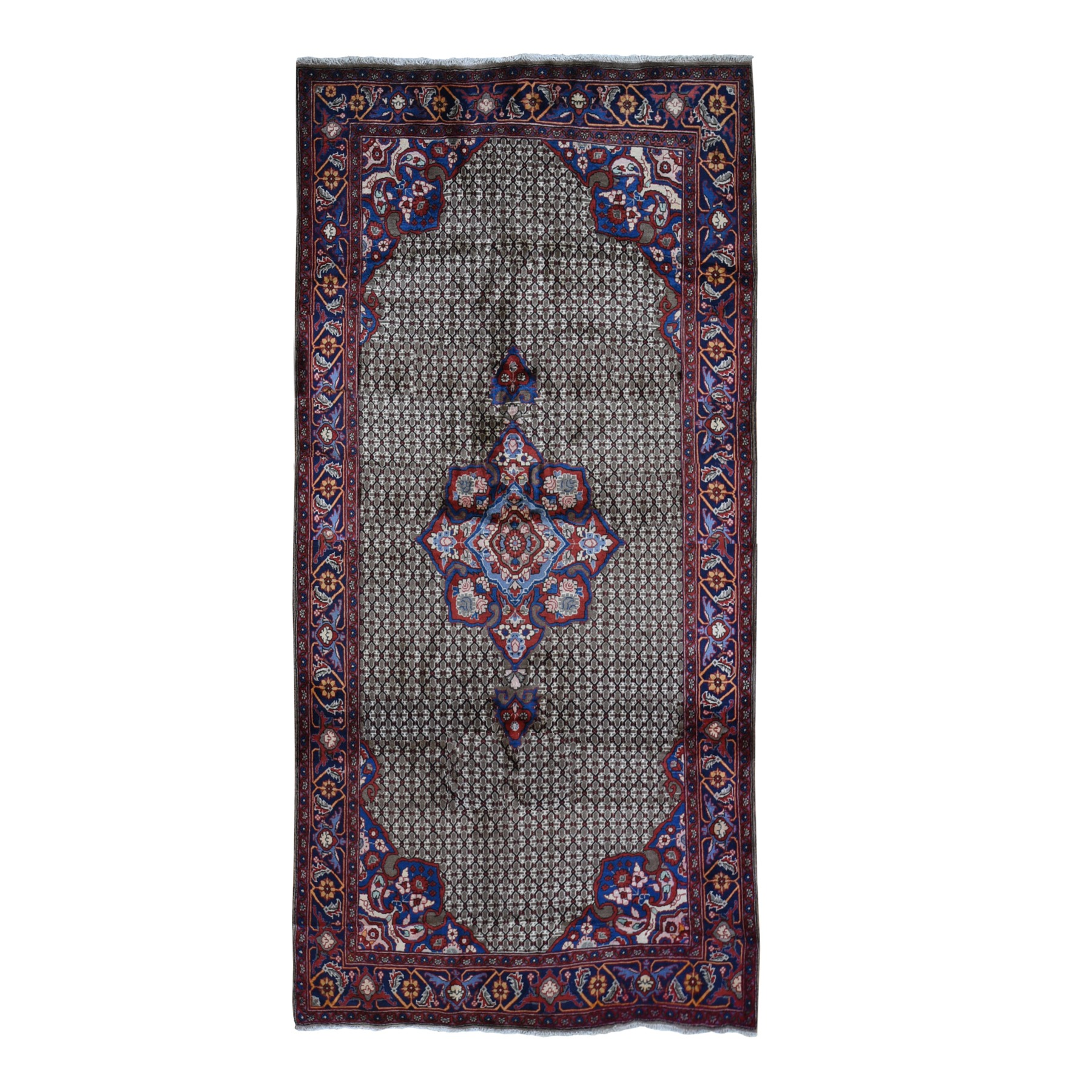 Classic Persian Collection Hand Knotted Brown Rug No: 1119566