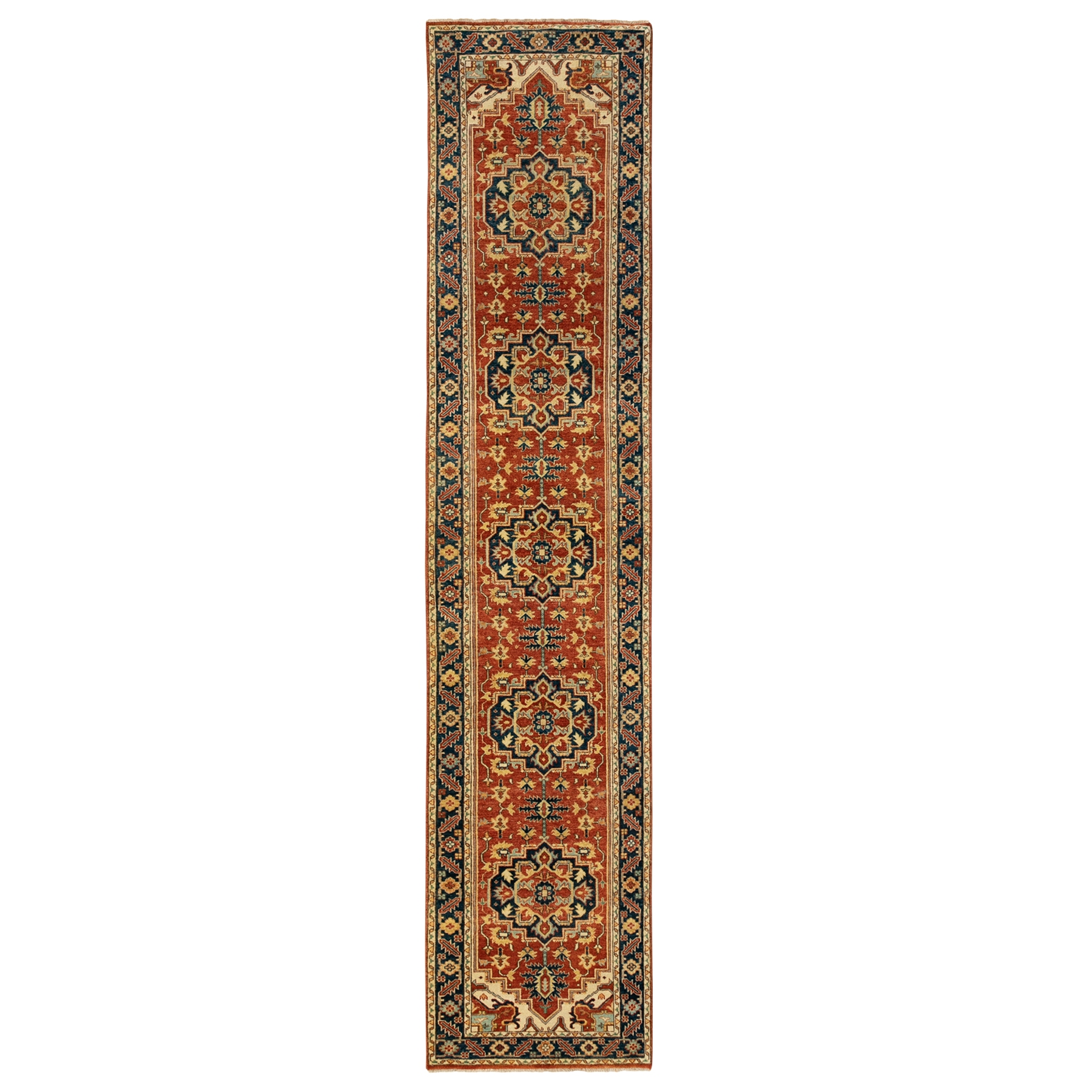 Serapi Heriz and Bakhshayesh Collection Hand Knotted Red Rug No: 1124022