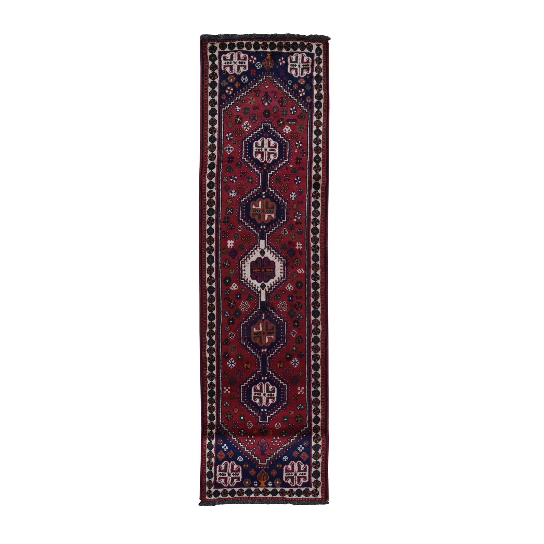 Classic Persian Collection Hand Knotted Red Rug No: 1119602