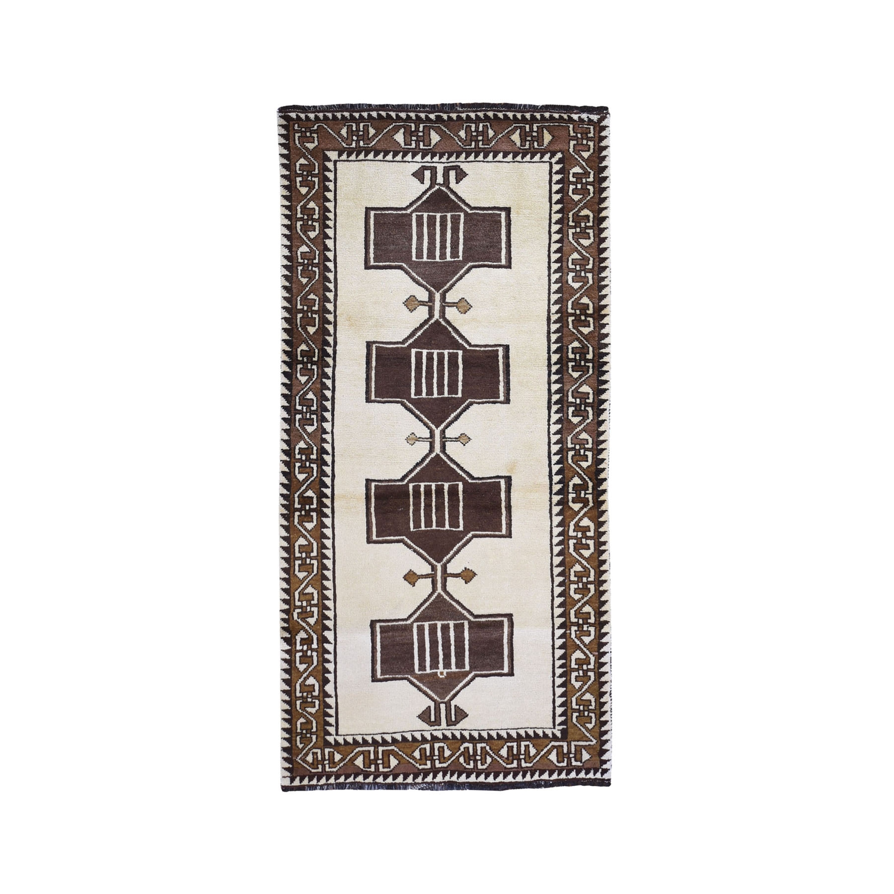 Classic Persian Collection Hand Knotted Ivory Rug No: 1119680