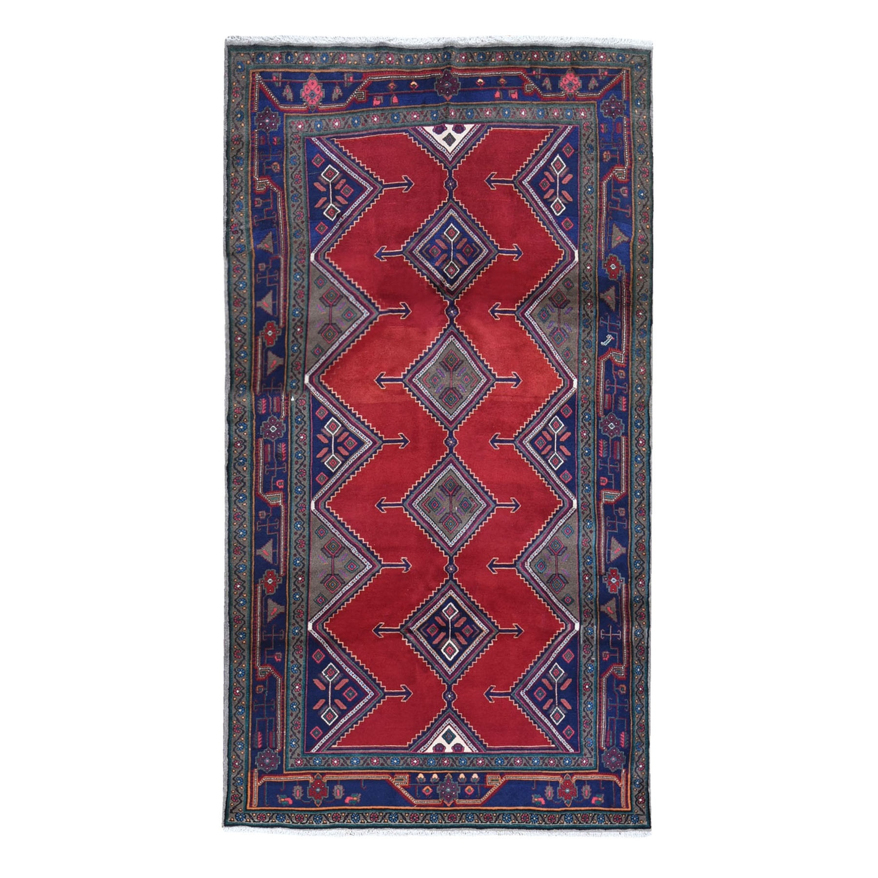 Classic Persian Collection Hand Knotted Red Rug No: 1119726