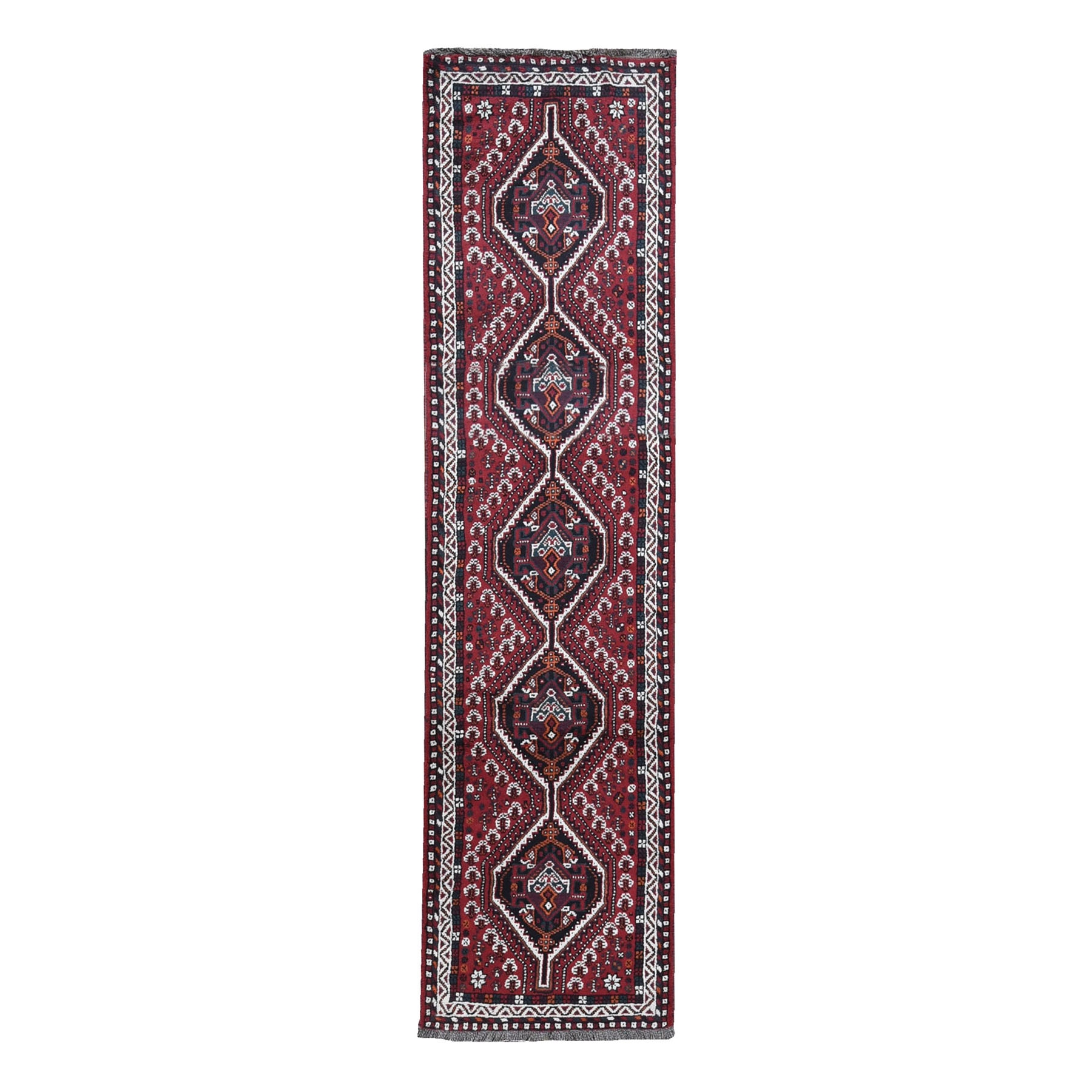Classic Persian Collection Hand Knotted Red Rug No: 1119752