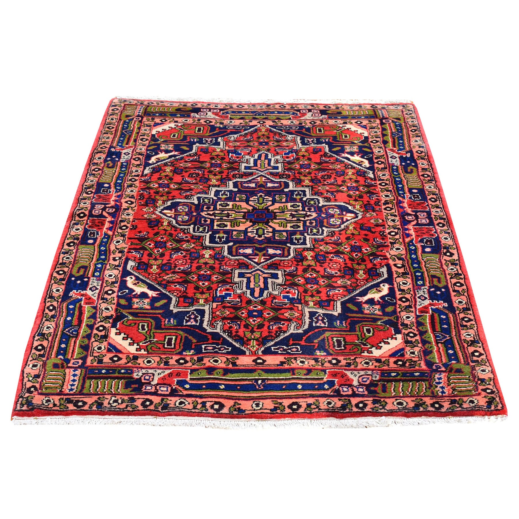 Classic Persian Collection Hand Knotted Red Rug No: 1119868