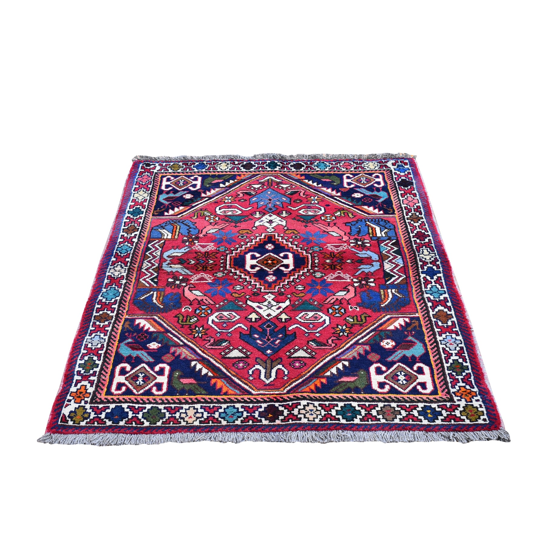 Classic Persian Collection Hand Knotted Red Rug No: 1119858