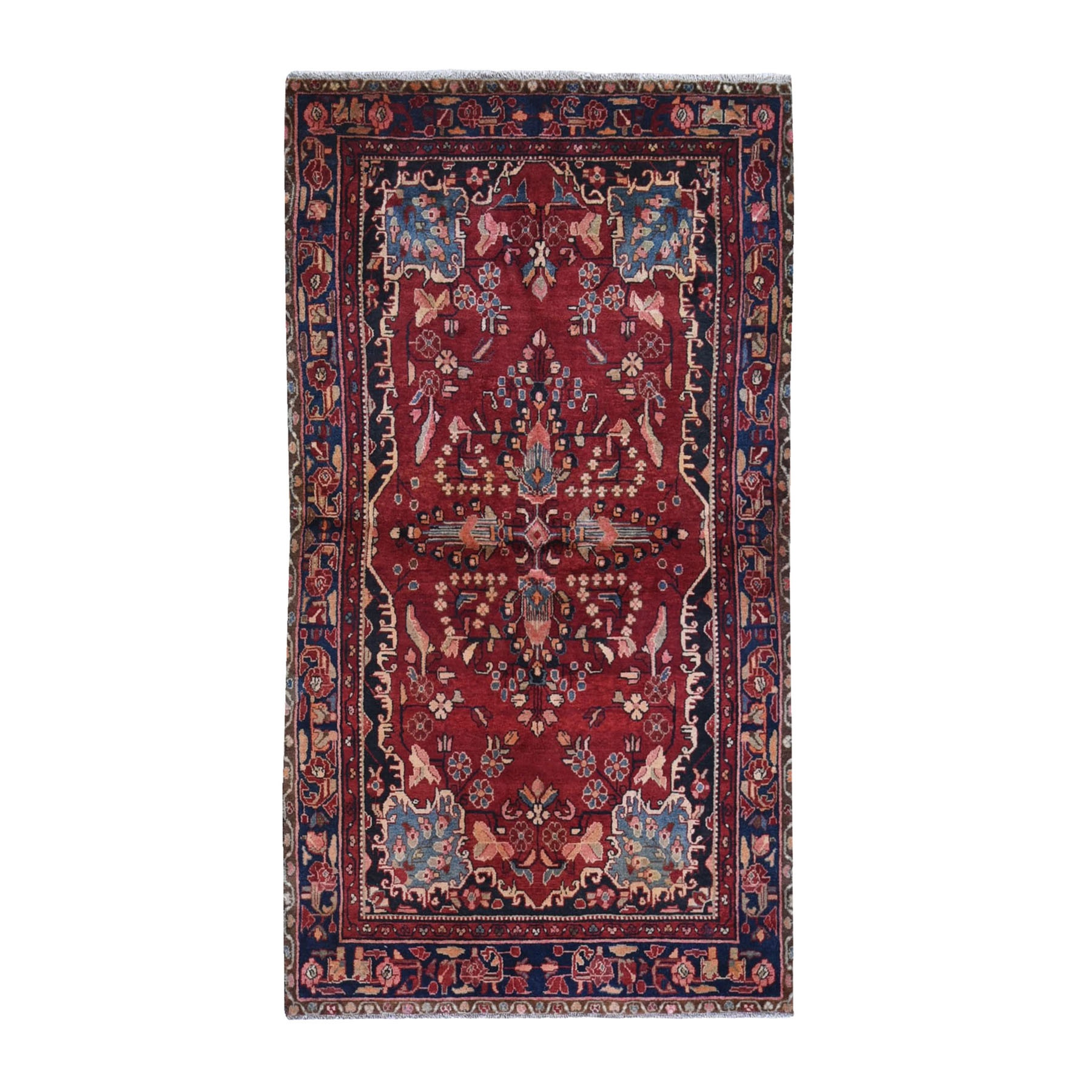 Classic Persian Collection Hand Knotted Red Rug No: 1119876