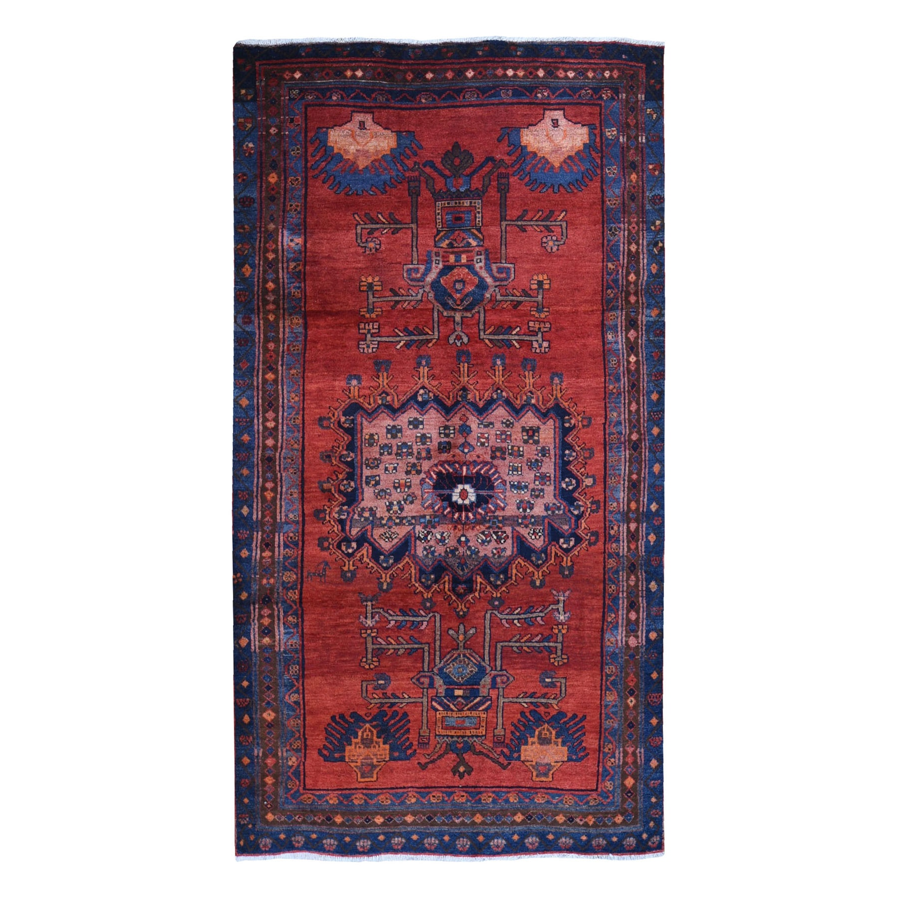 Classic Persian Collection Hand Knotted Red Rug No: 1119880