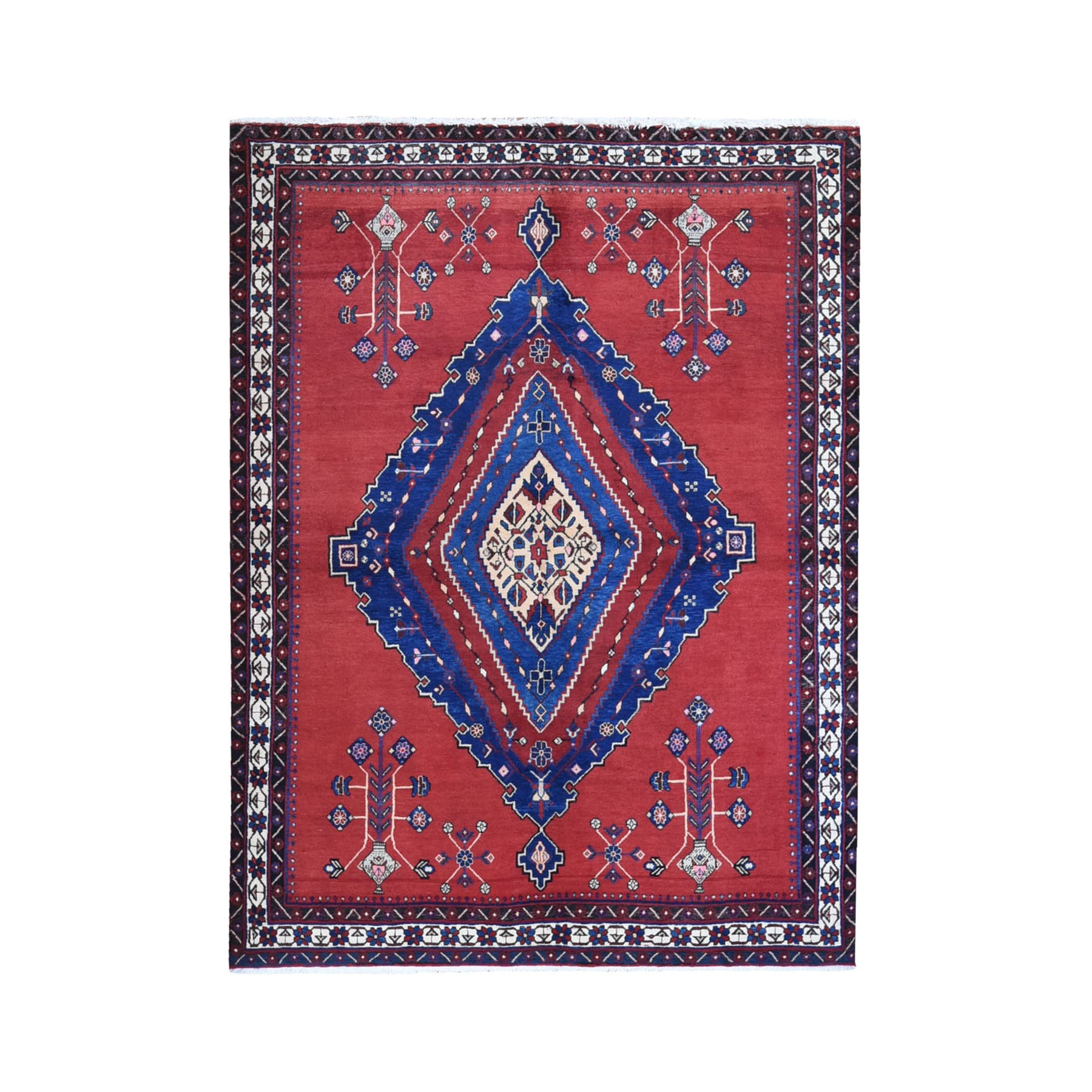 Classic Persian Collection Hand Knotted Red Rug No: 1119882